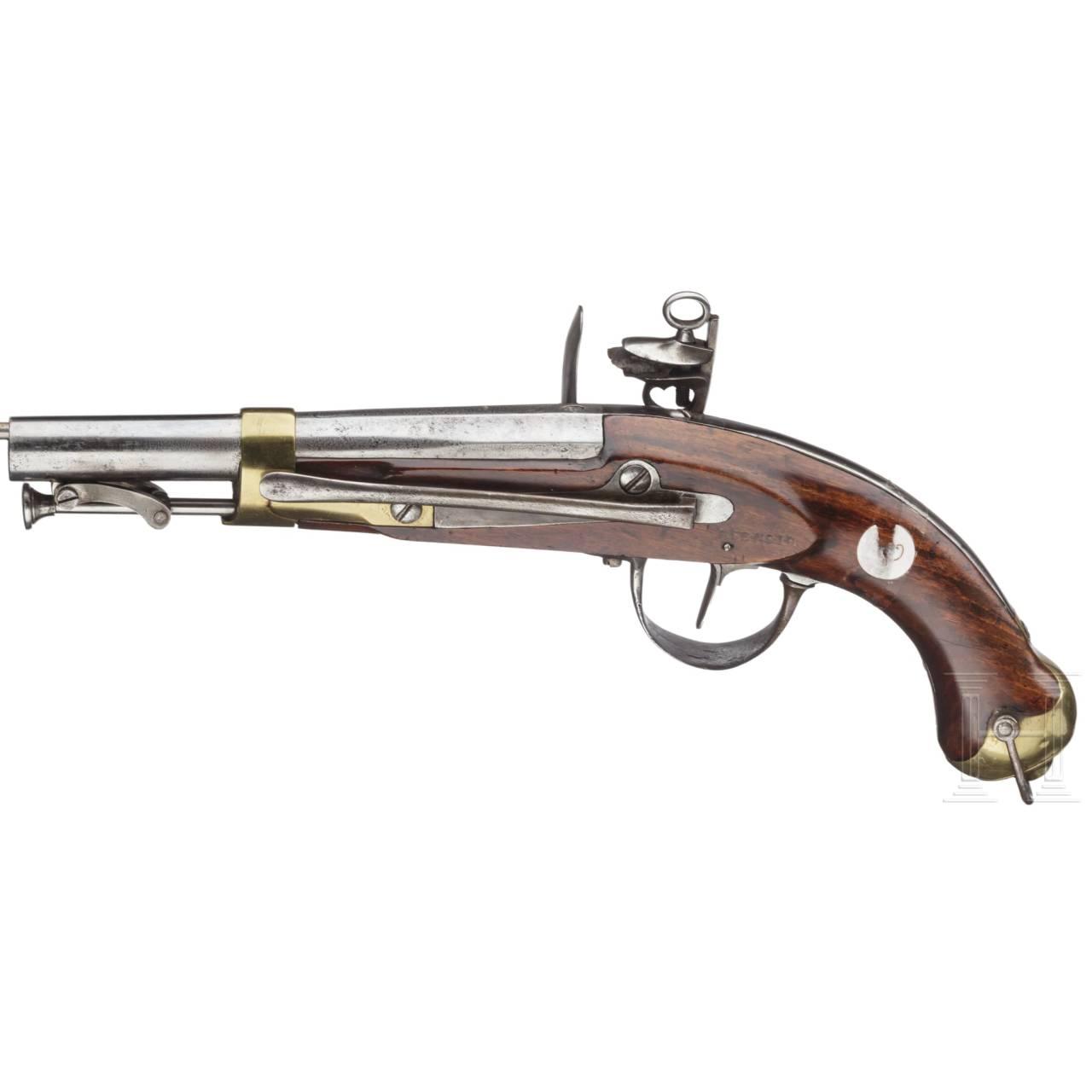 A Spanish flintlockpistol, Guardia Real Modelo 1824
