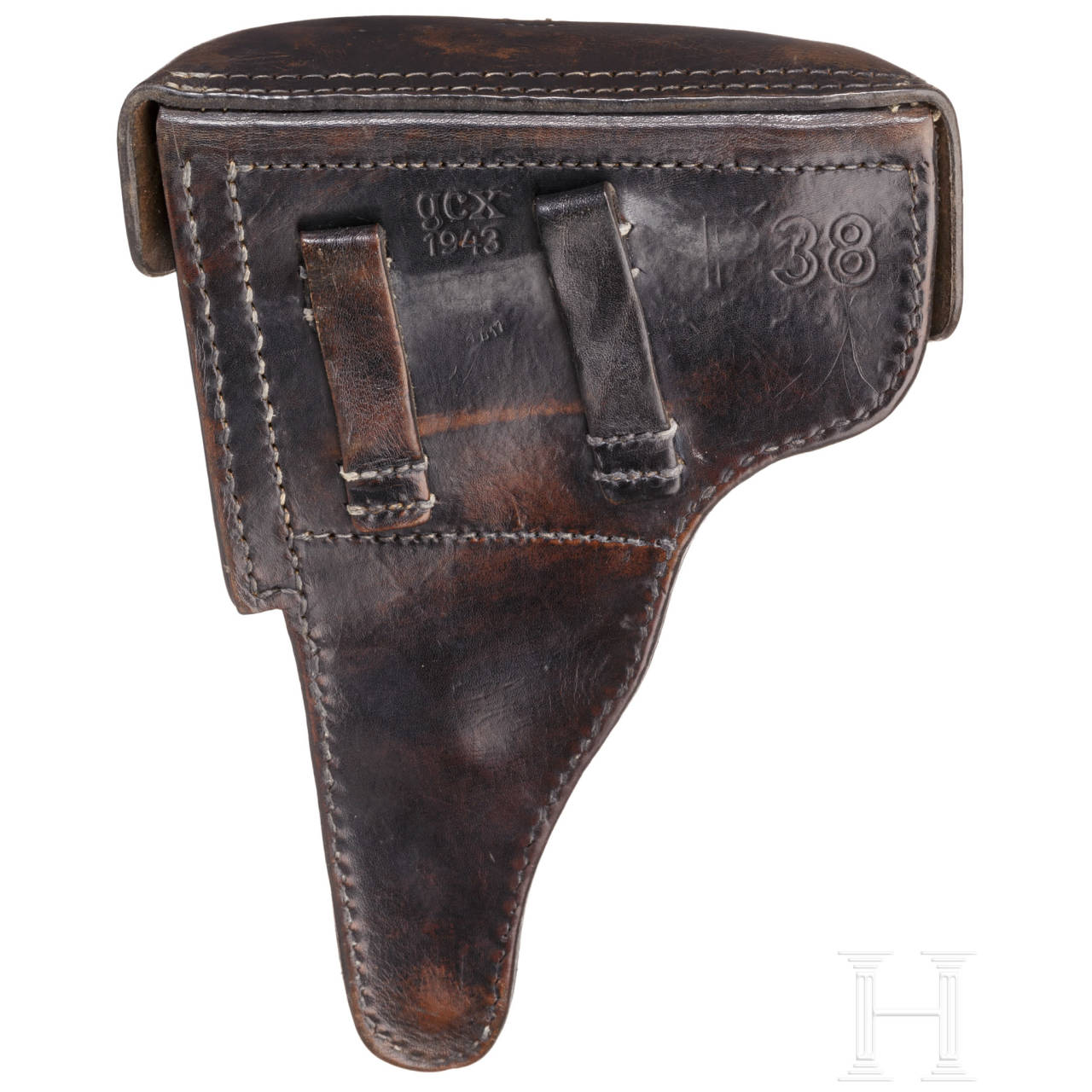 "A Mauser P 38, code ""byf - 43"" with holster"