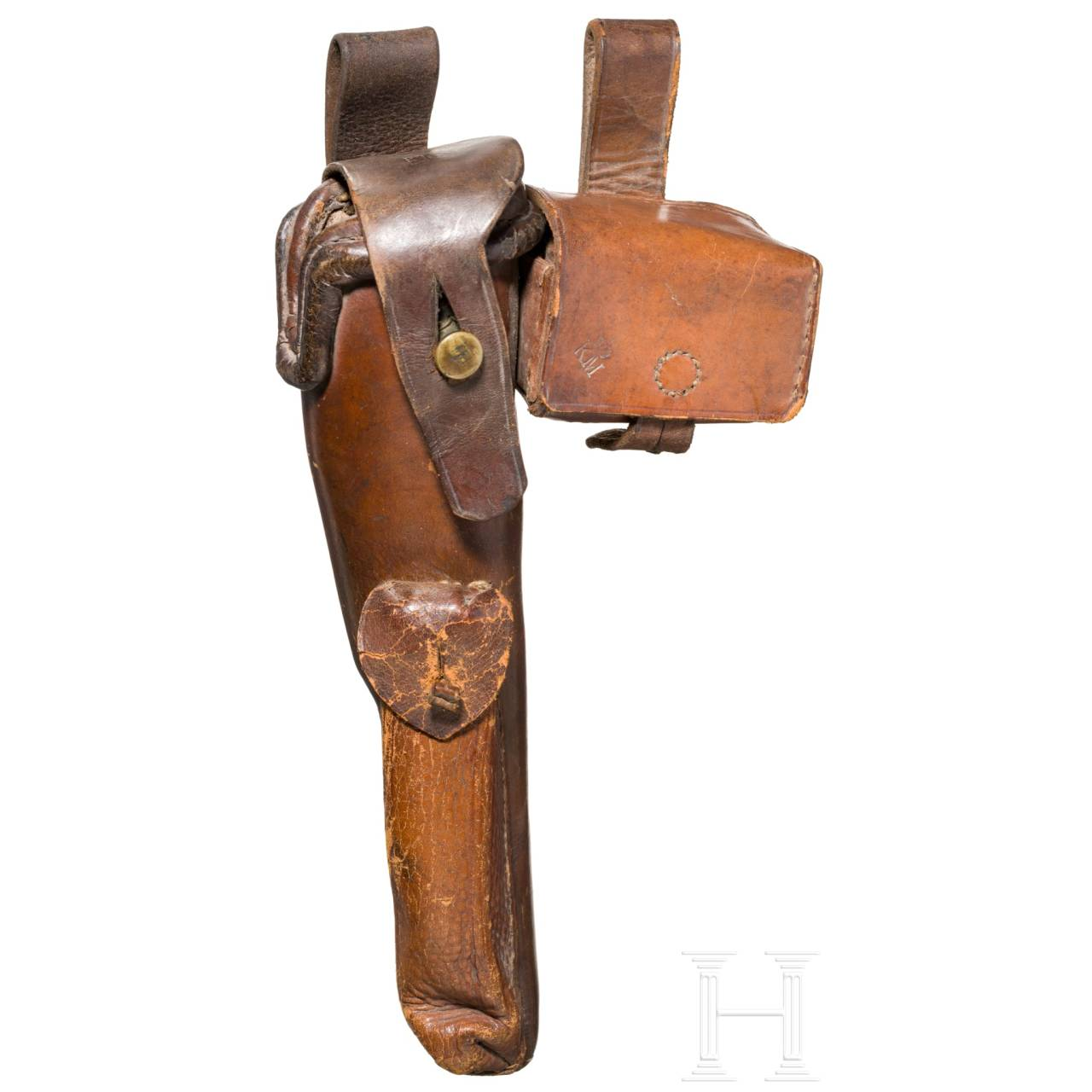A German navy holster for a Colt model 1851 Navy