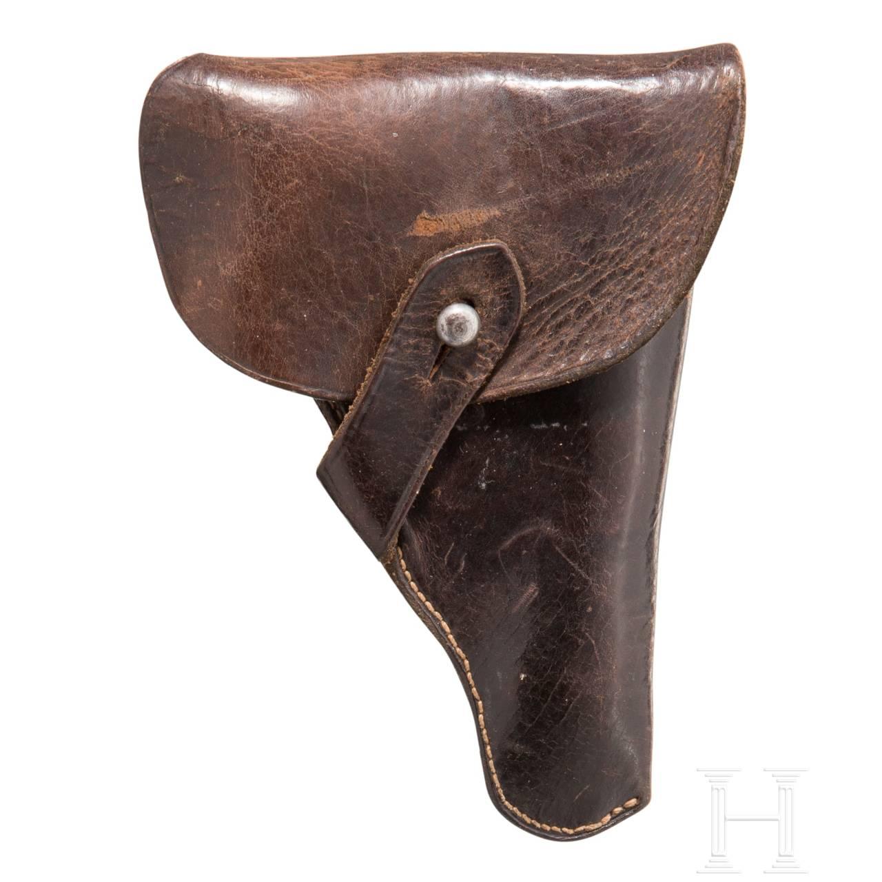 """Mauser Mod. 1910 """"Sidelatch"""", mit Tasche"""