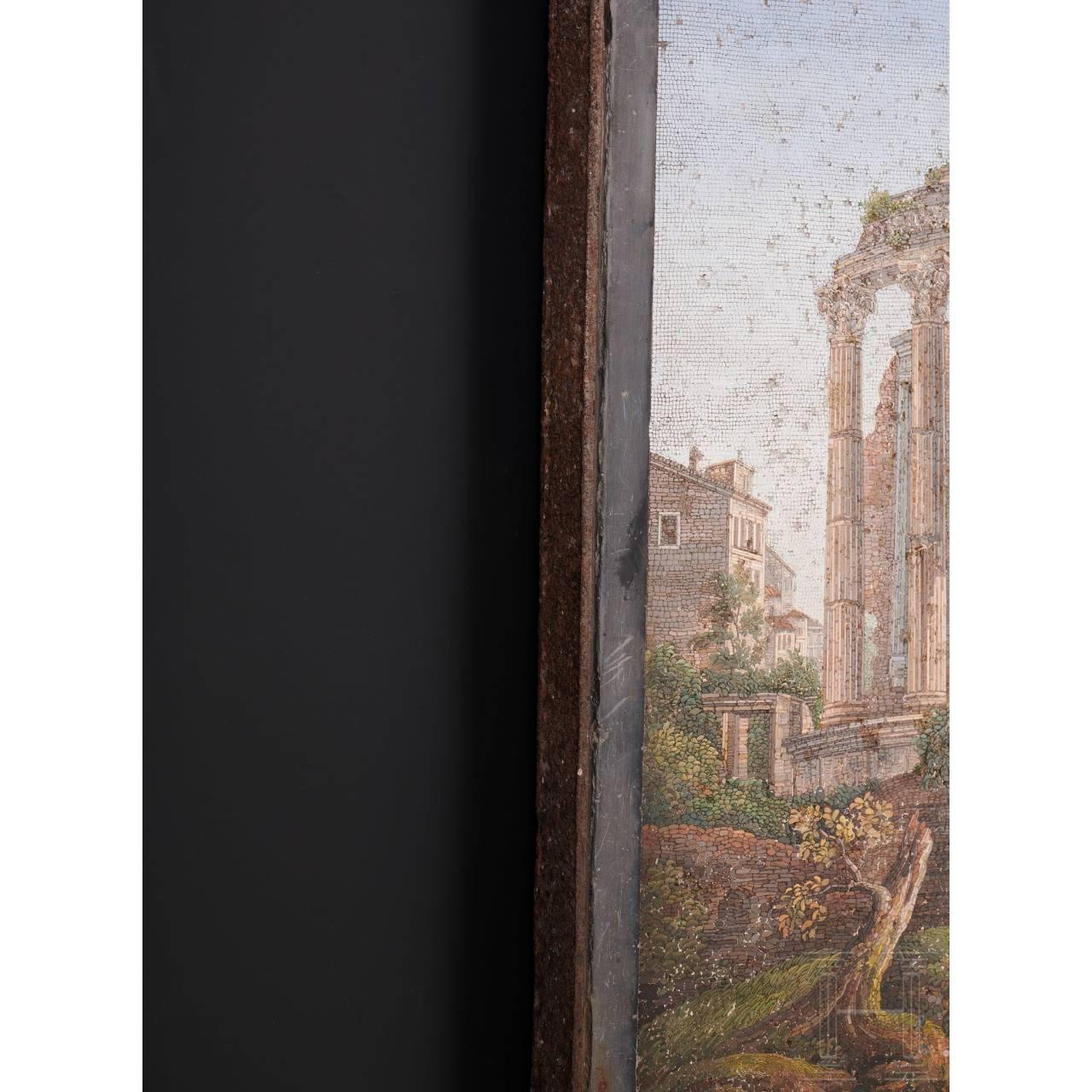 Mikromosaik, Glas, Gioacchino Rinaldi/Rom, um 1810
