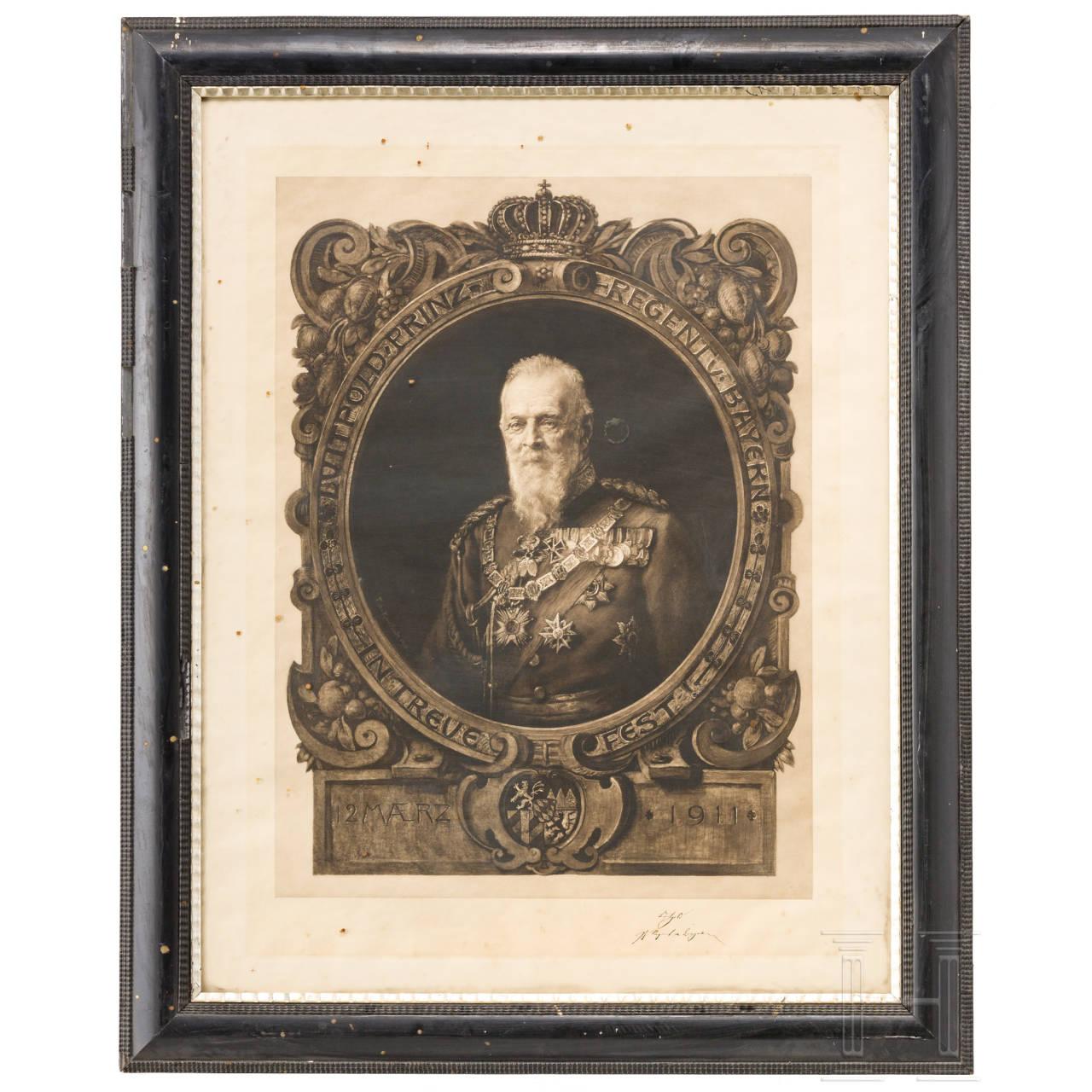 Wilhelm Freiherr von Leonrod - Portrait des Prinzregenten Luitpold