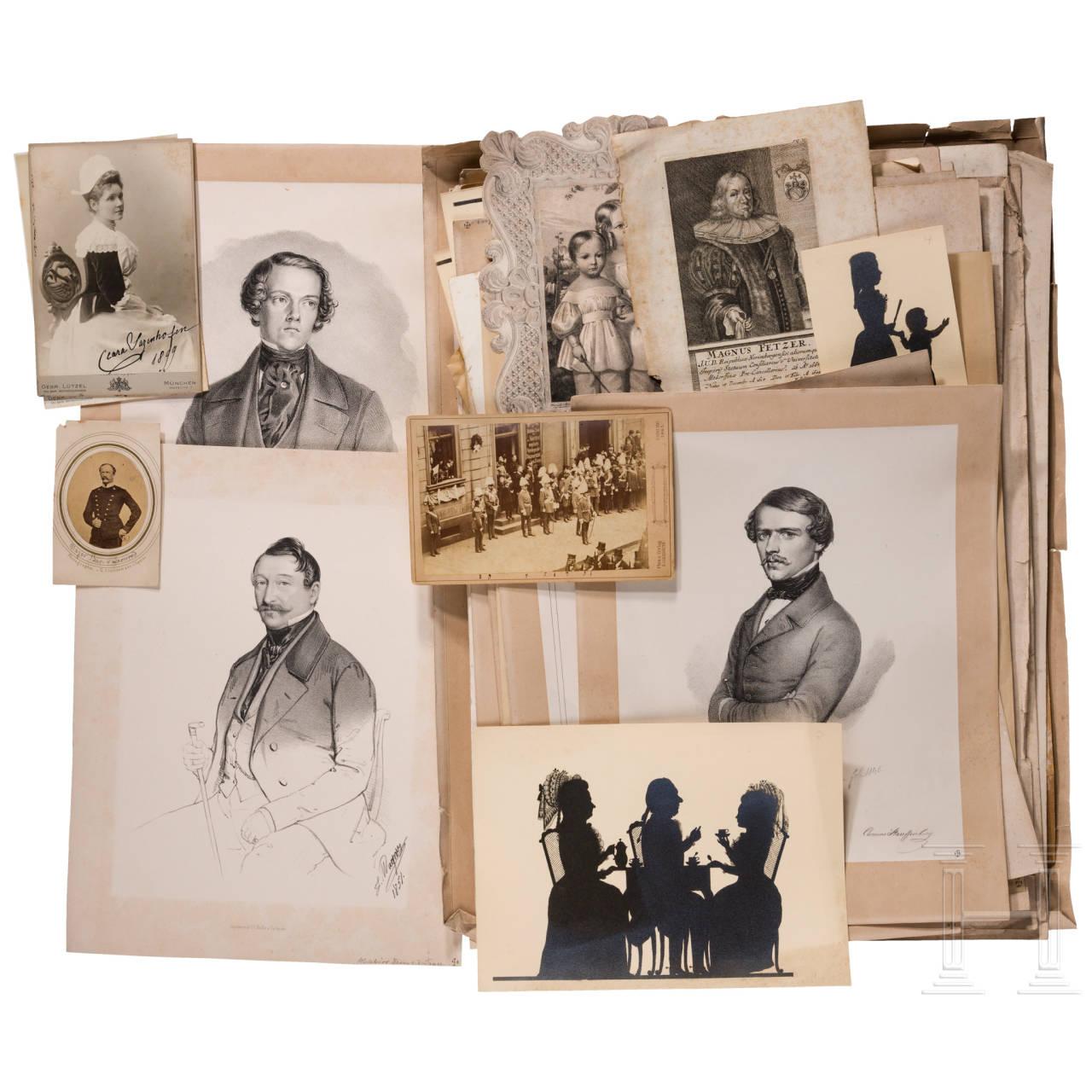 Wilhelm Freiherr von Leonrod - Gruppe Stiche von Angehörigen des Adels in Deutschland