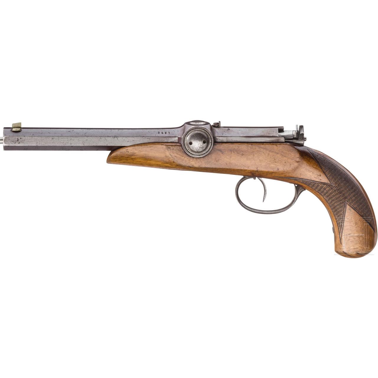 Zündnadelpistole, deutsch, um 1850