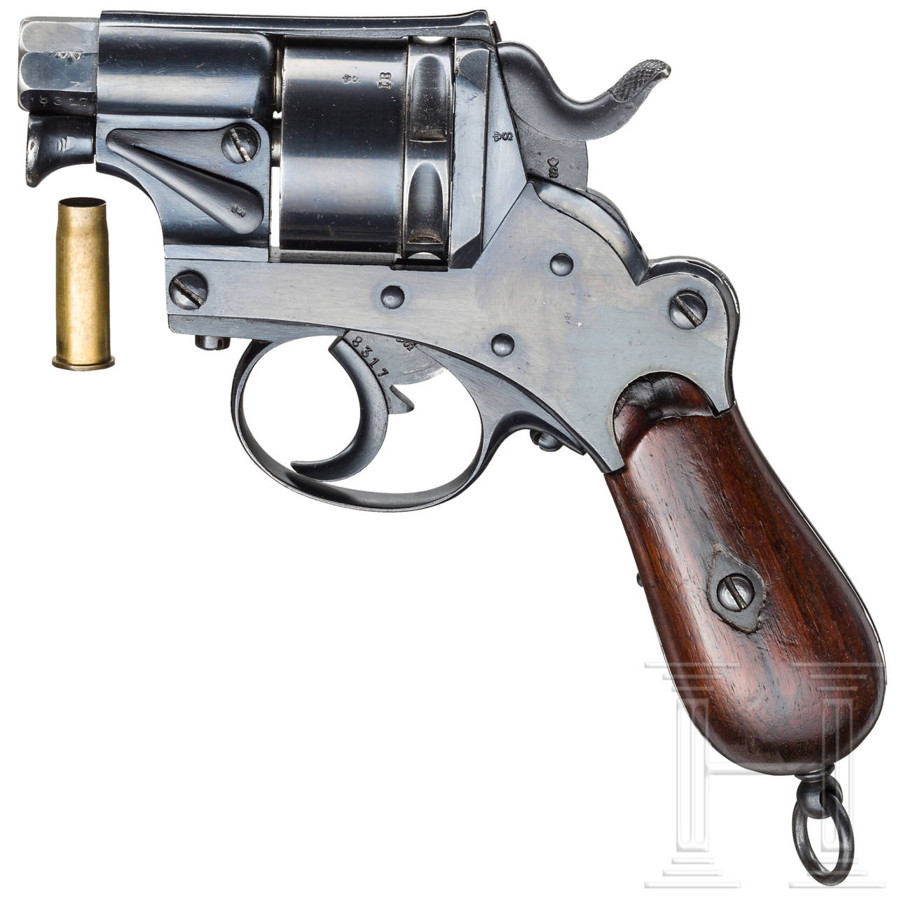 Gaspatronen-Revolver Mod. 1873, J.F.J. Bar Delft