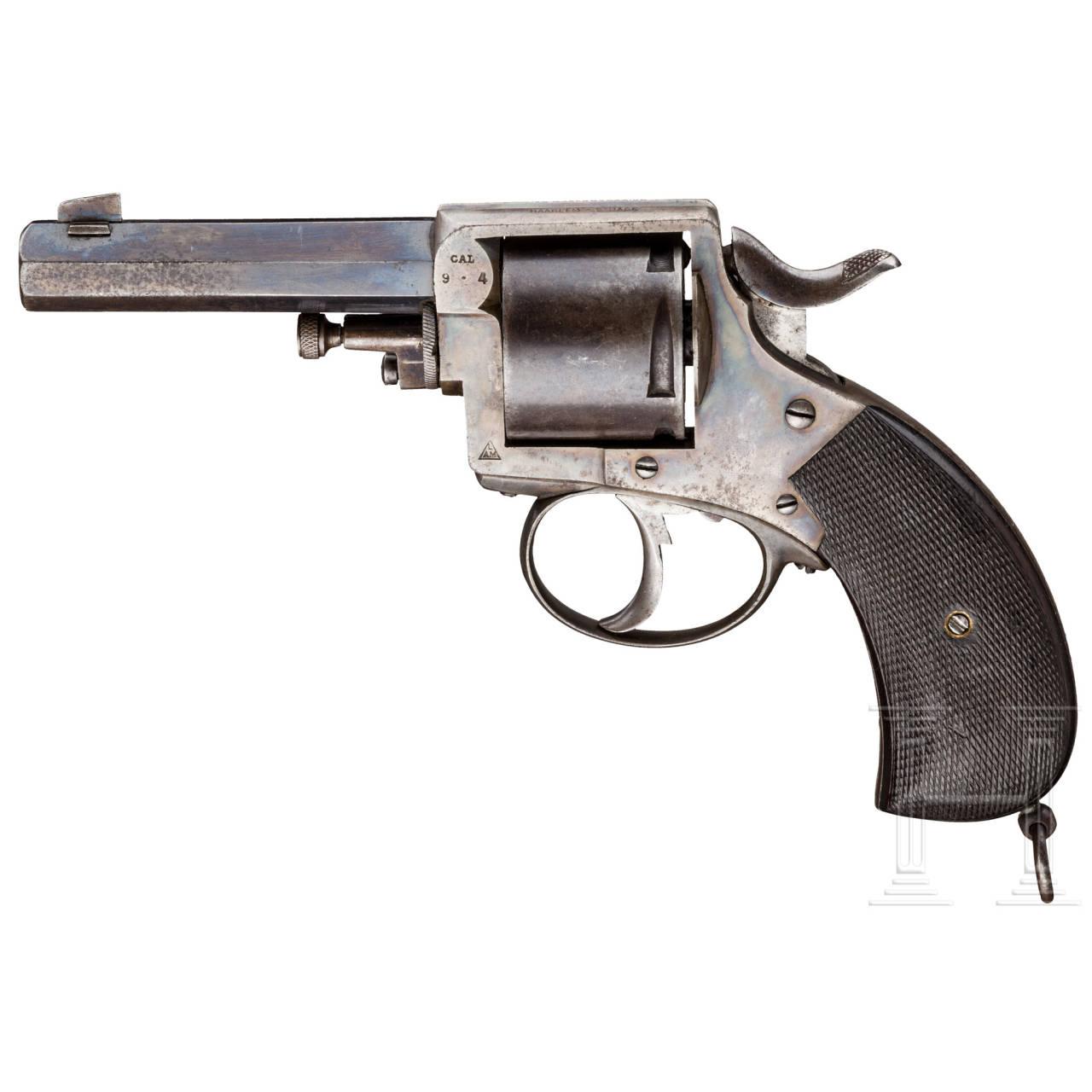 Revolver Constabulary, L. Ancion Marx, Liège, Polizei