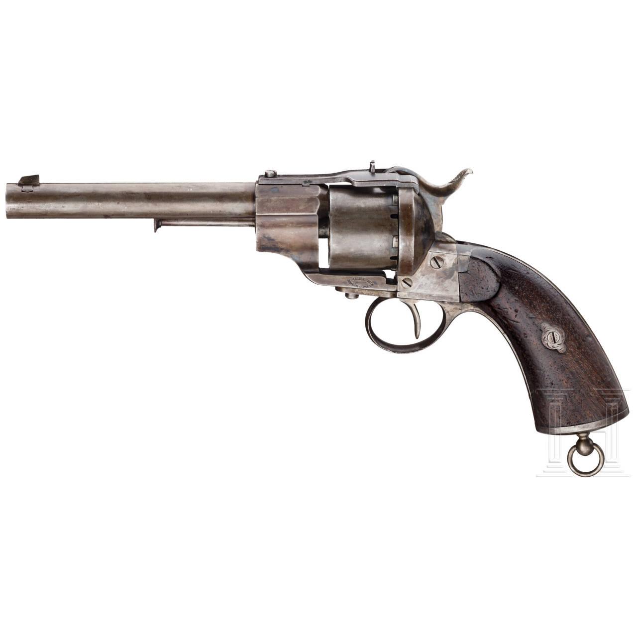 Revolver Lefaucheux Mod. 1864-98, für Kavallerie und Artillerie