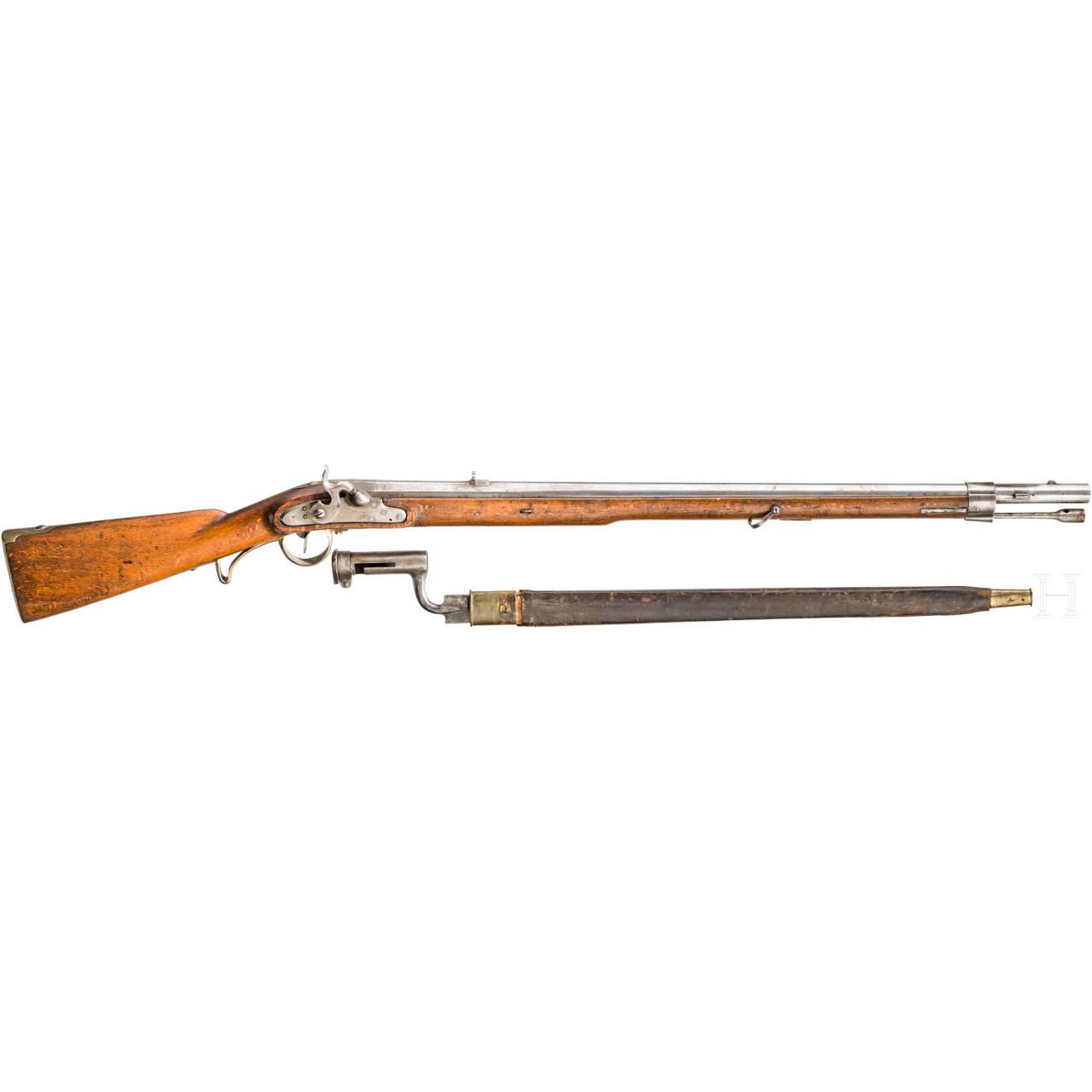 Perkussionsgewehr, ähnlich Kammerbüchse M 1849