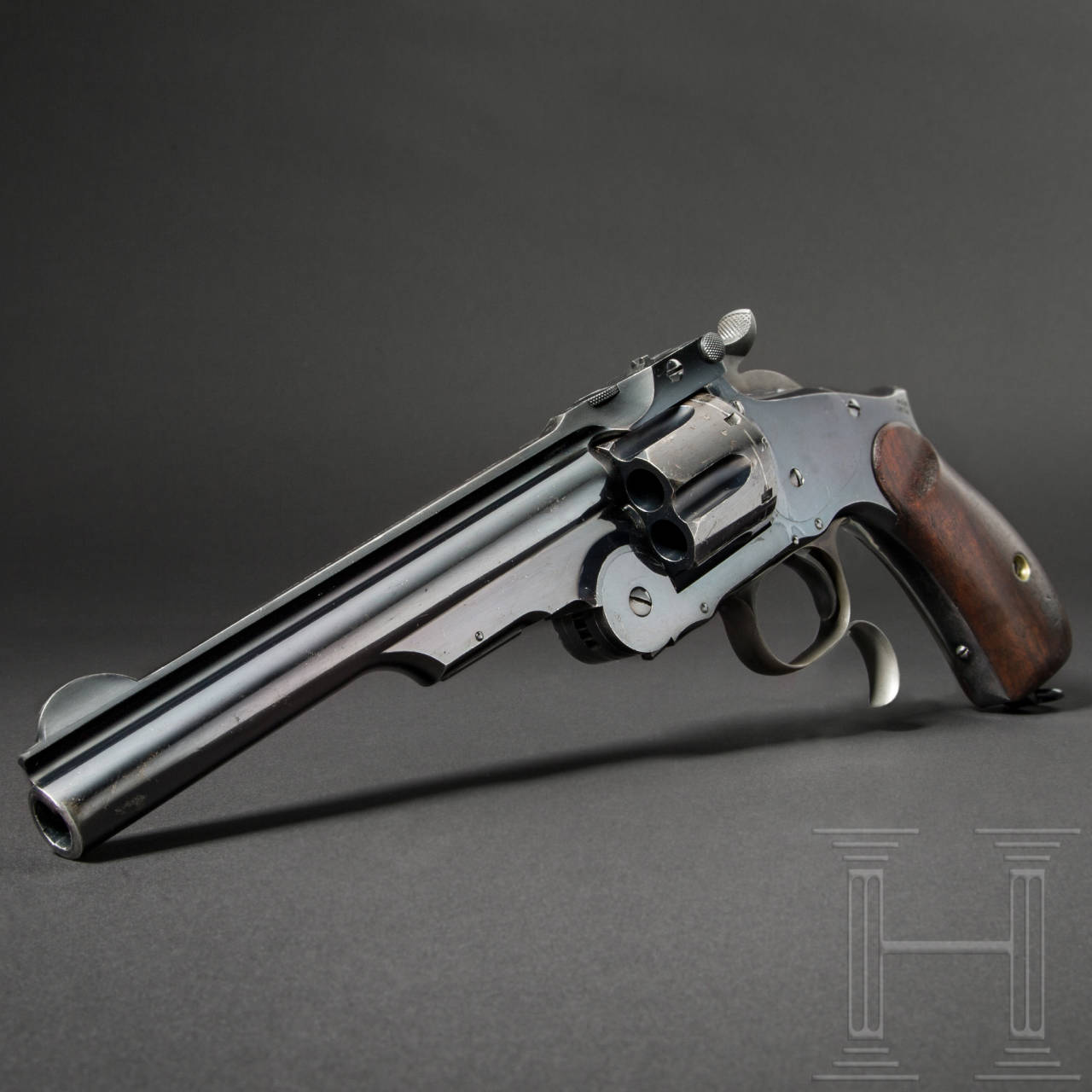 Smith & Wesson No. Three Russian, 3rd Mod. (Mod. 1874), Ludwig Loewe, Berlin