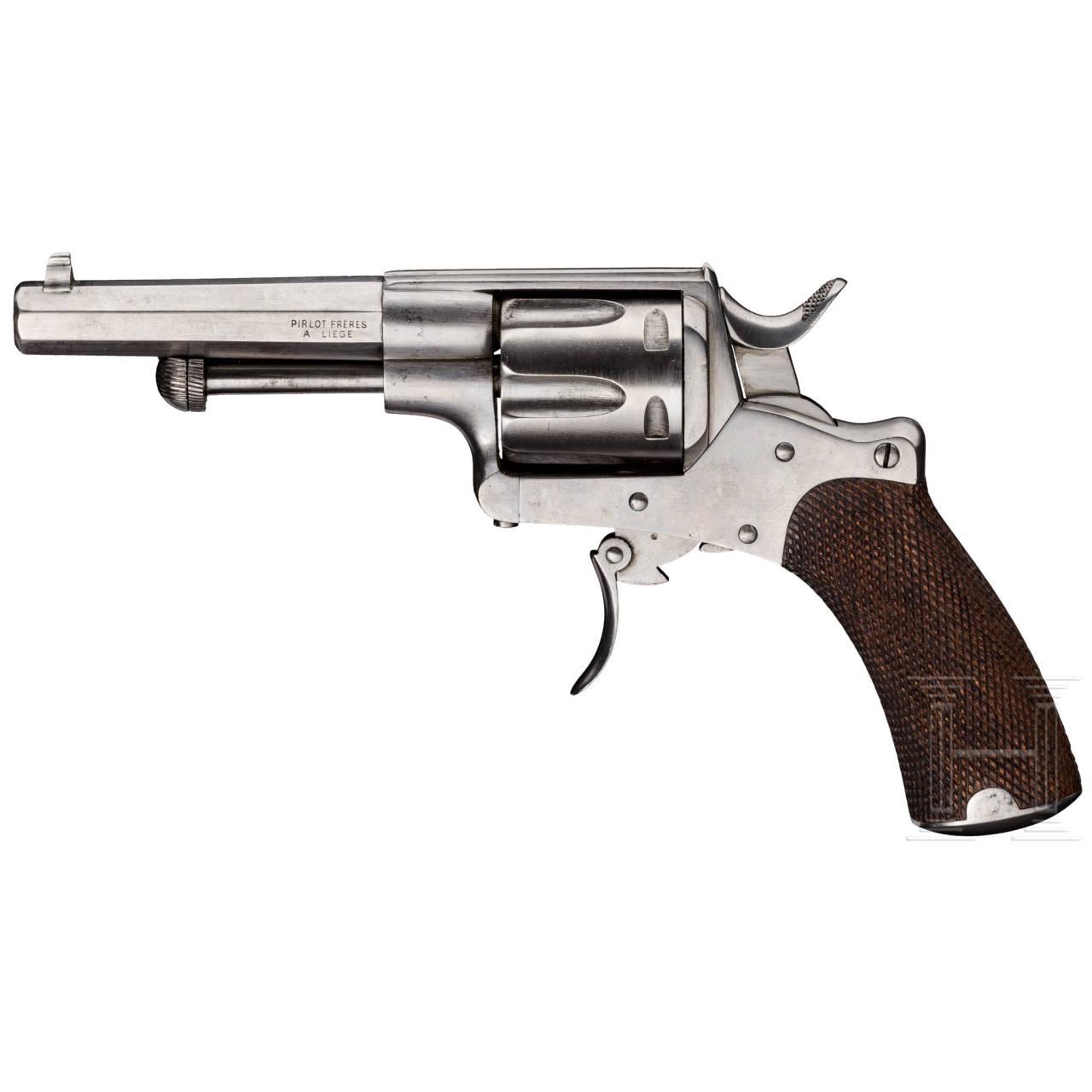 Revolver Pirlot Frères Mod. 1872, verkleinerte Ausführung