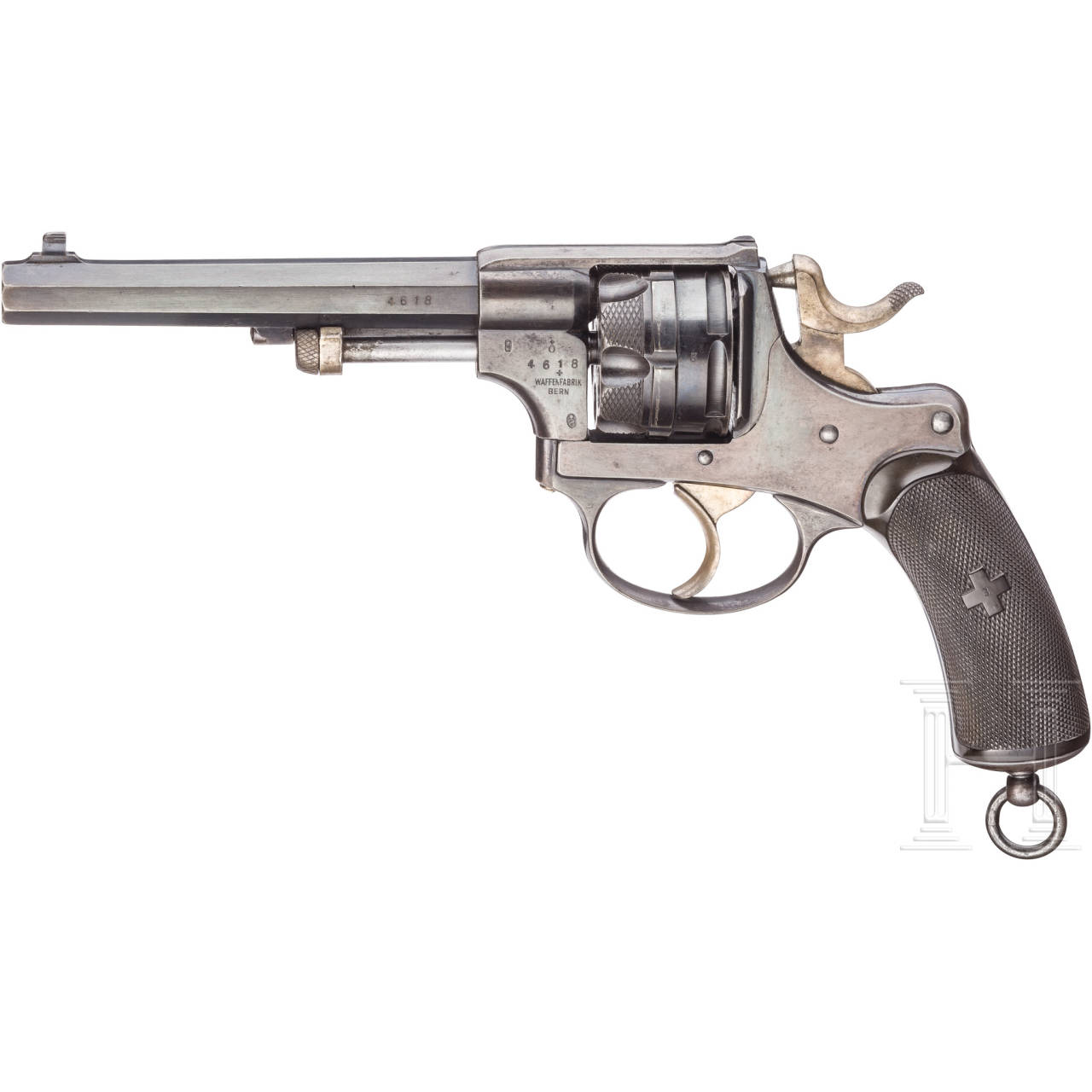 Revolver, Waffenfabrik Bern, Mod. 1878