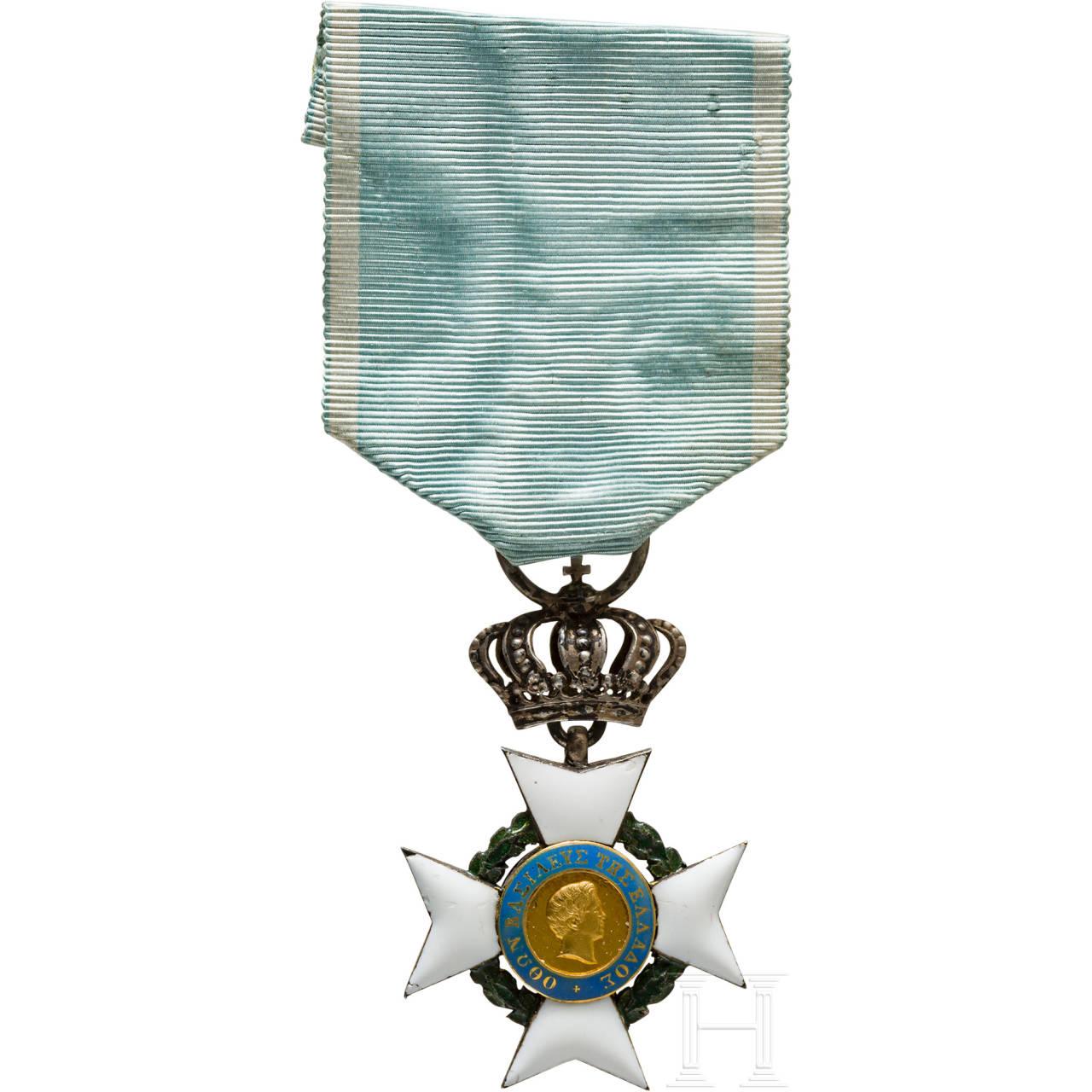 Königlicher Erlöserorden - Ritterkreuz in Silber (2. Klasse), 1. Modell, 1833-63