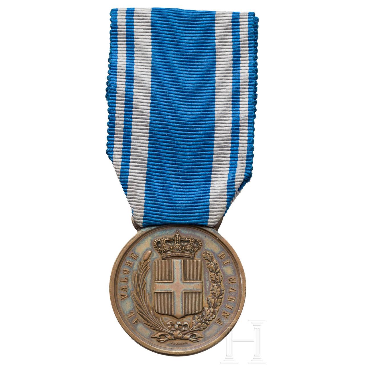 "Medaille ""Al Valore di Marina"" für Sergeant Thomas"