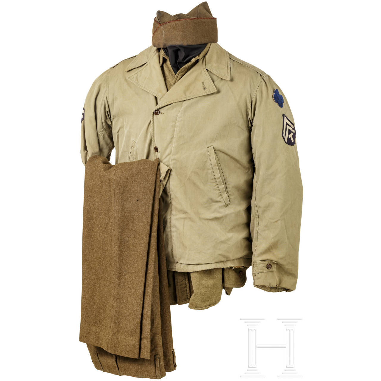Felduniform für Angehörige der 88. Infanteriedivision, 2. Weltkrieg