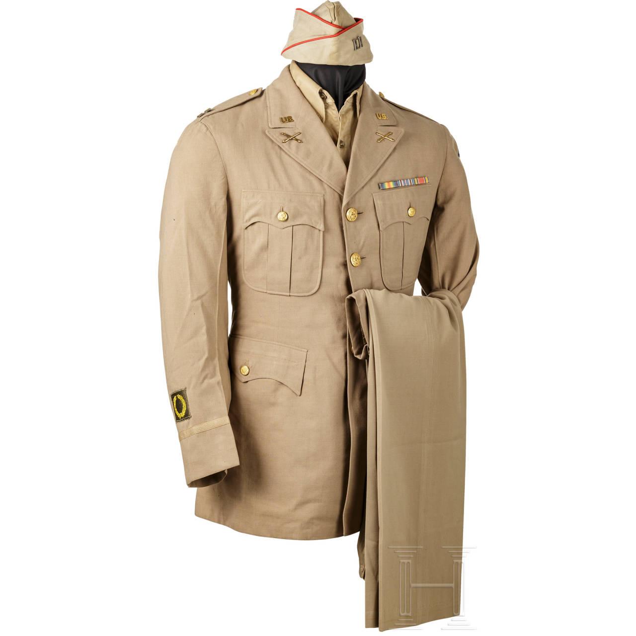 Dienstuniform für Captains der Artillerie, 2. Weltkrieg