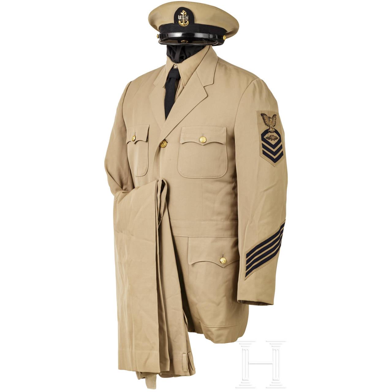 Sommeruniform für Unteroffiziere der US-Navy, 2. Weltkrieg
