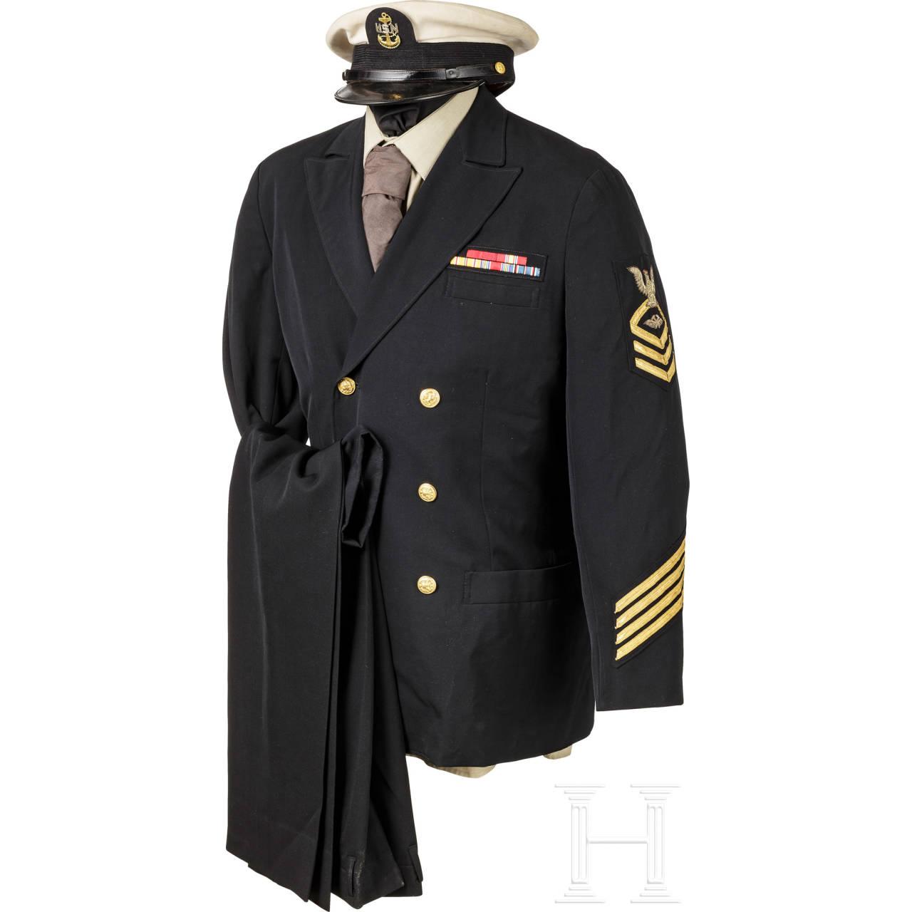 Winteruniform für Unteroffiziere der US-Navy, 2. Weltkrieg