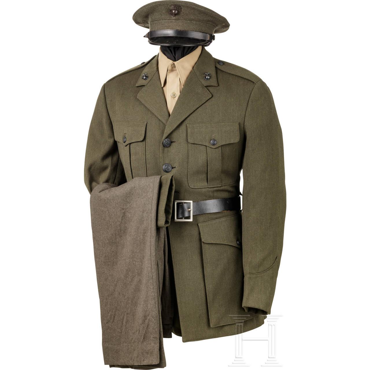 Dienstuniform für Angehörige des US Marine Corps, 2. Weltkrieg