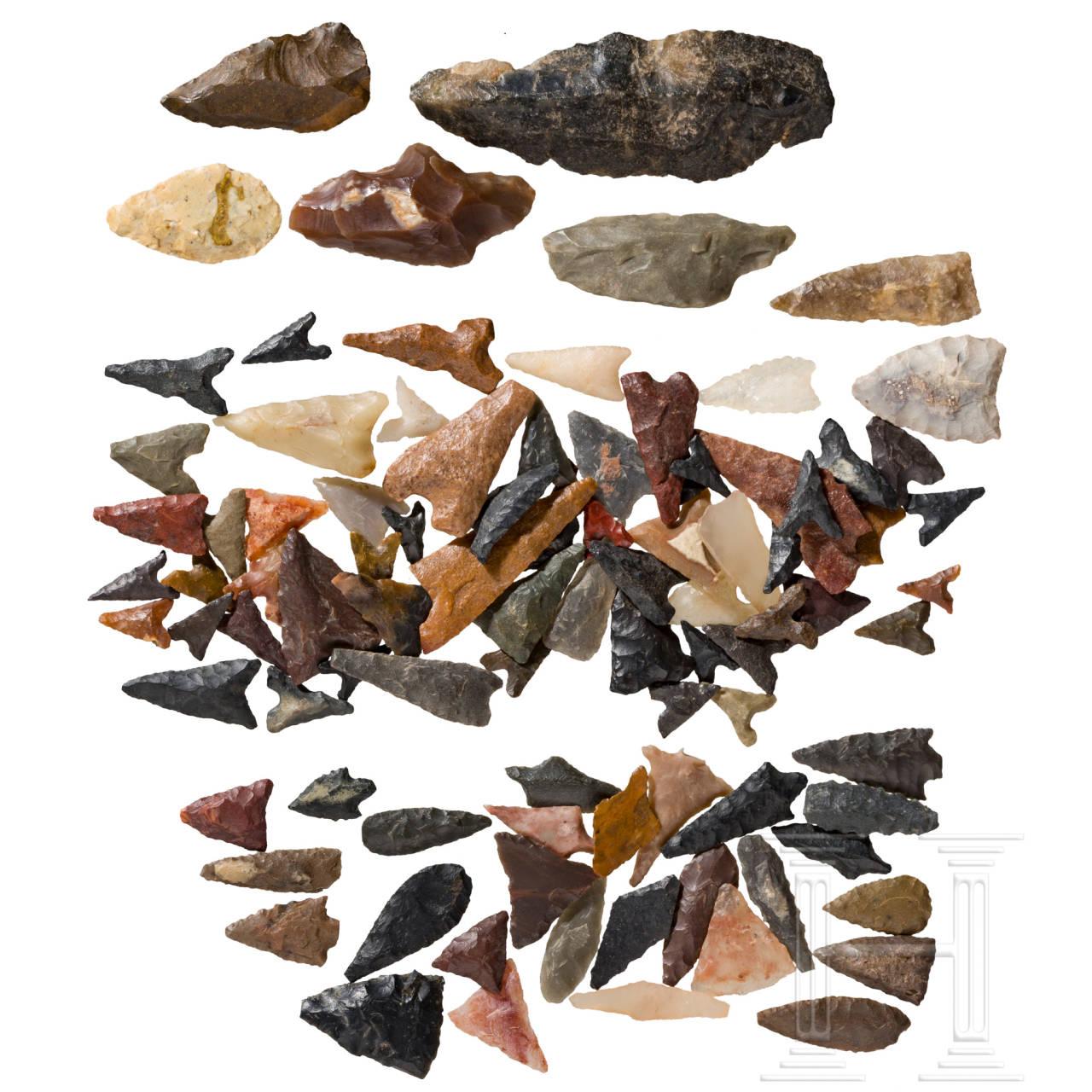 Gruppe Pfeilspitzen, Sahara, neolithisch
