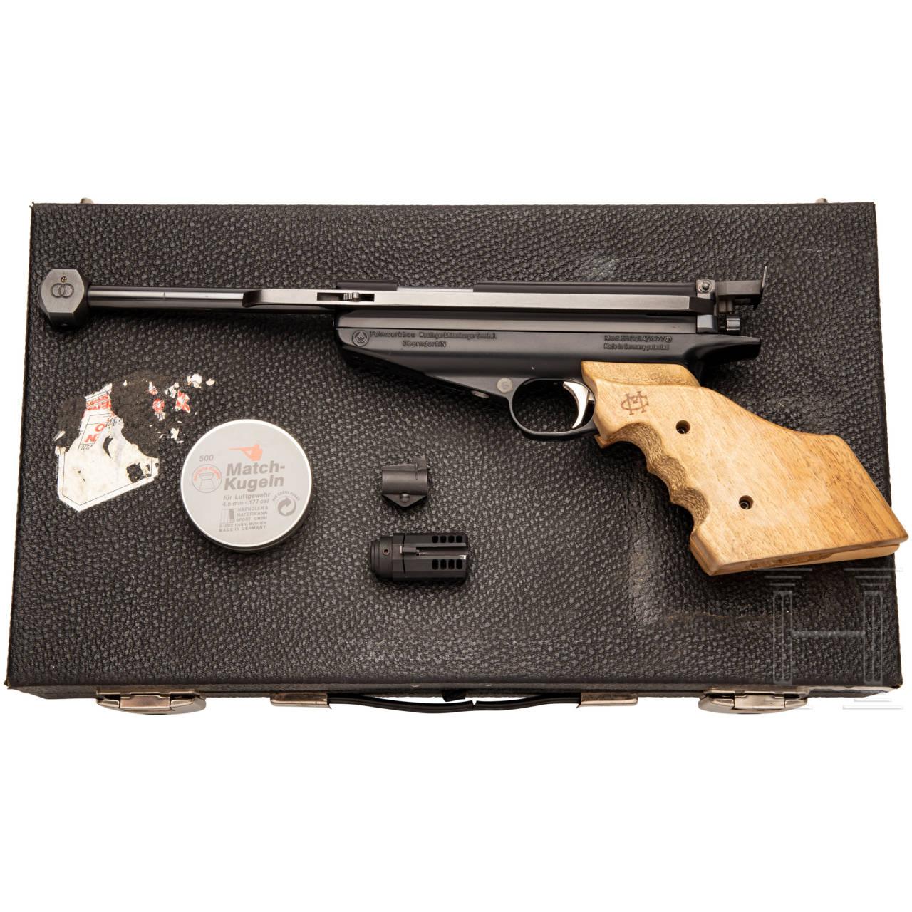 Luftpistole Feinwerkbau Mod. 65, im Koffer