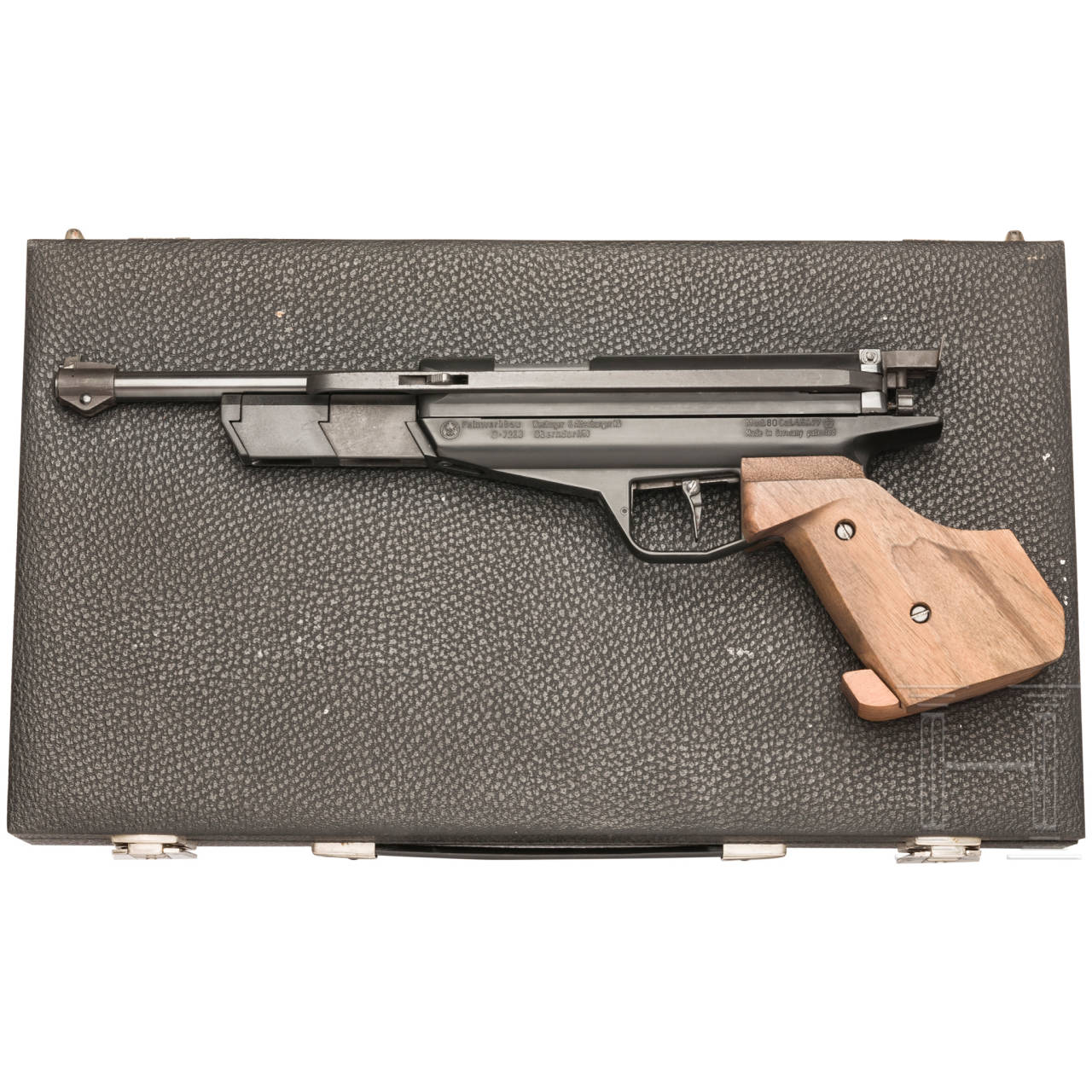 Luftpistole Feinwerkbau Mod. 80, im Koffer
