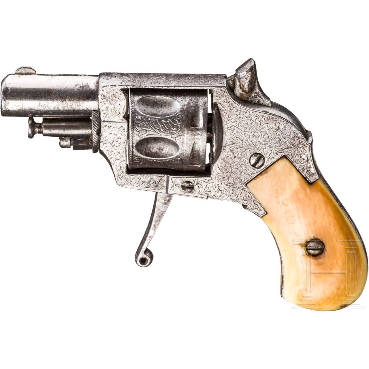 Bulldog-Revolver, Lüttich, um 1900