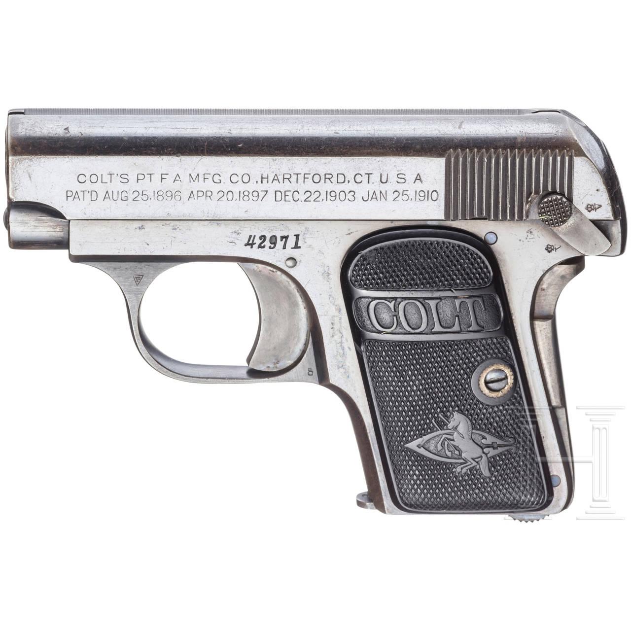 Colt Mod. 1908 Hammerless .25 Pocket