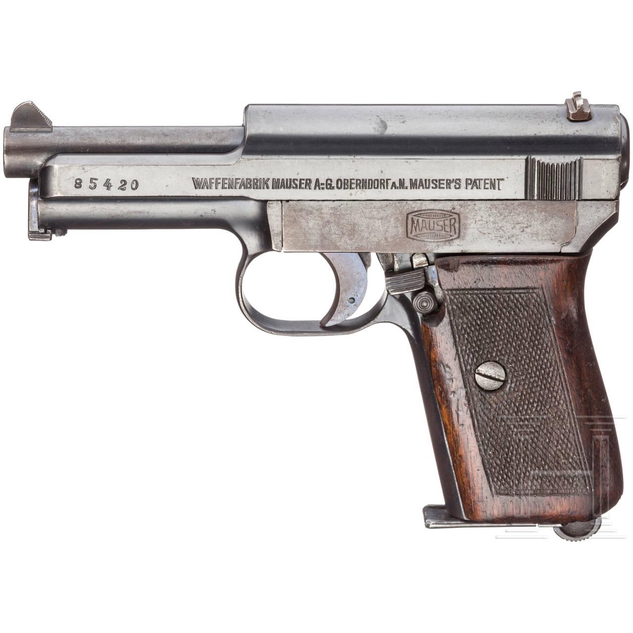 Mauser Mod. 1914, Militärkontrakt