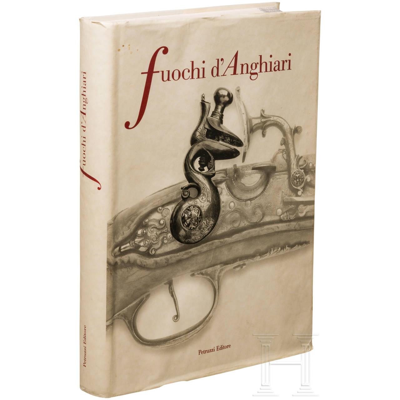 """""""Fuochi d'Anghiari"""", Katalog der Ausstellung im Museum Palazzo Taglieschi, März- Nov. 2003"""