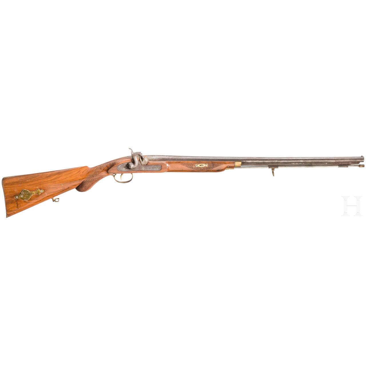 Perkussionsgewehr, Replik im Stil um 1850