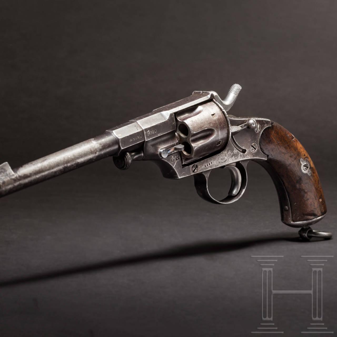A Reichsrevolver Model 1879, Mauser