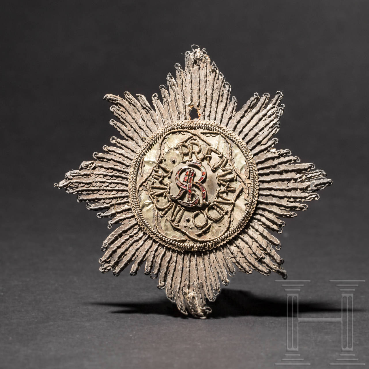 Order of St. Stanislaus, an embroidered Breast Star, Poland, 2nd half of the 18th century