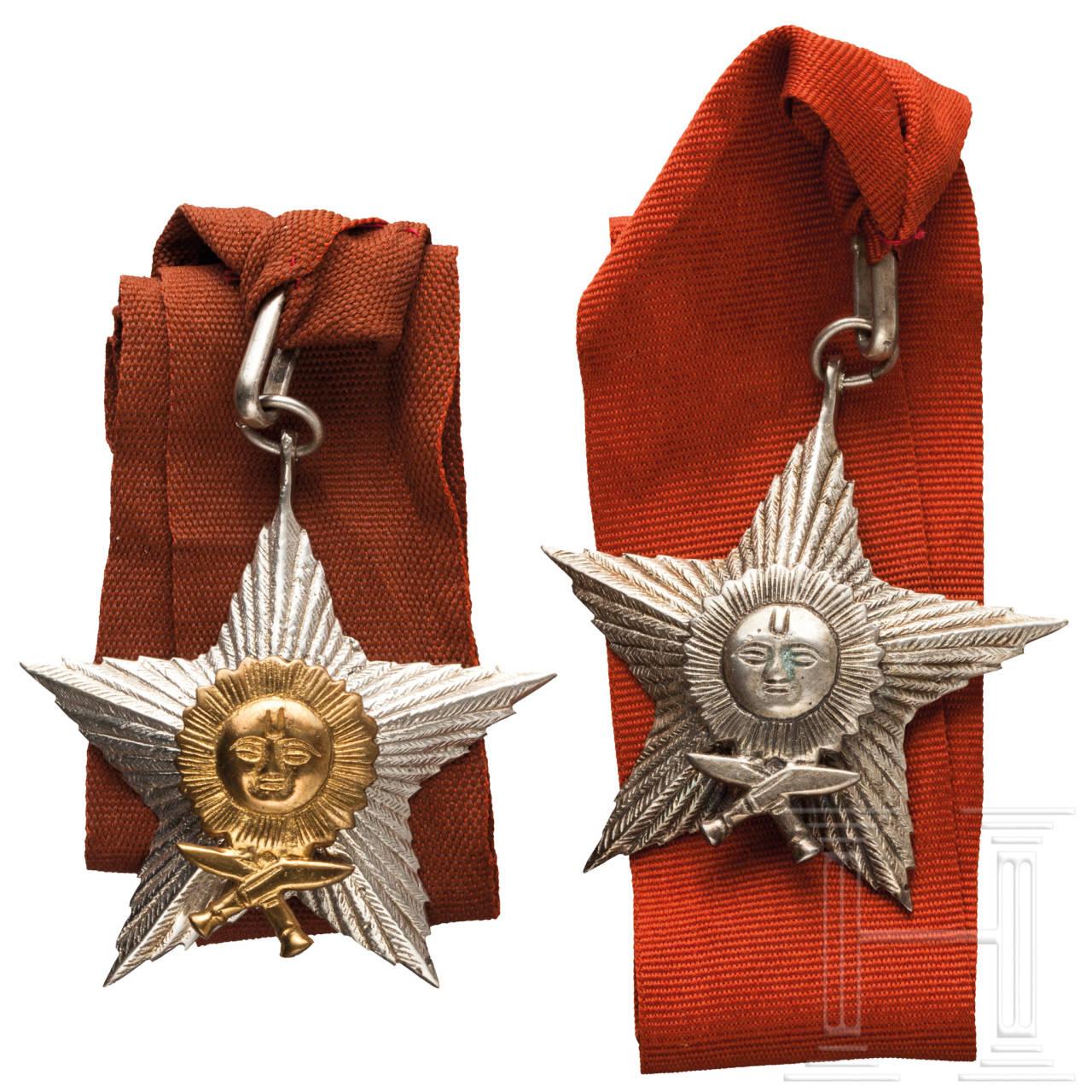 Nepalesischer Orden der Rechten Hand des Gurkha (Gorkha-Dakshina Bahu) - Offizier- und Ritterdekoration