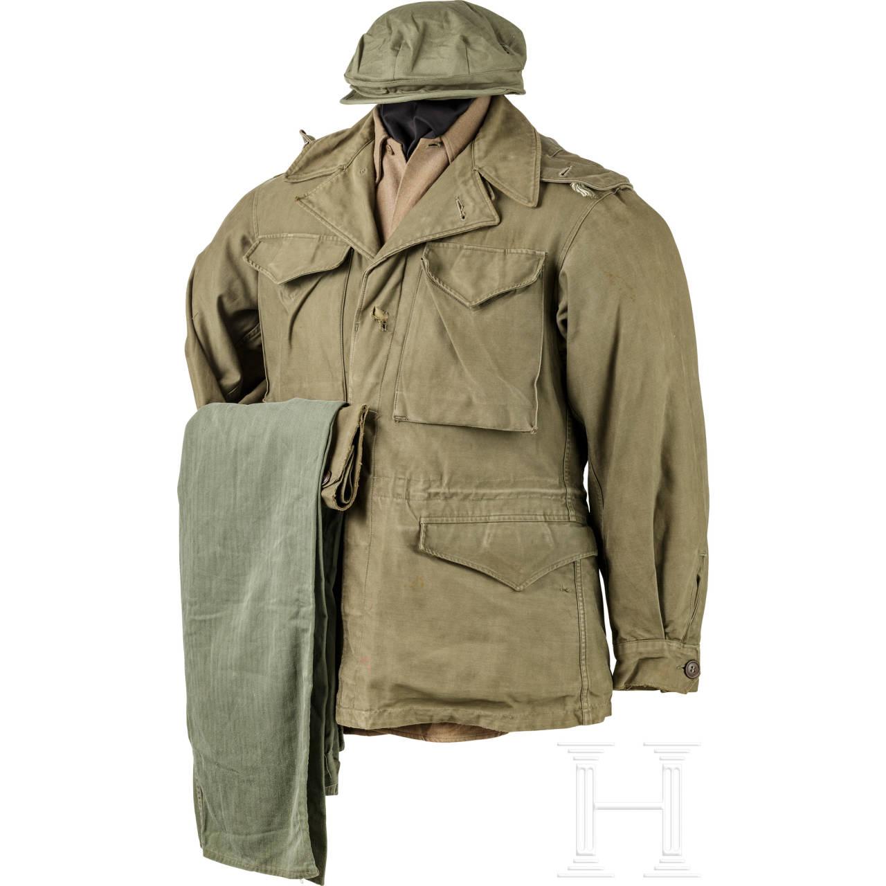Uniform M 43 für Mannschaften der Infanterie