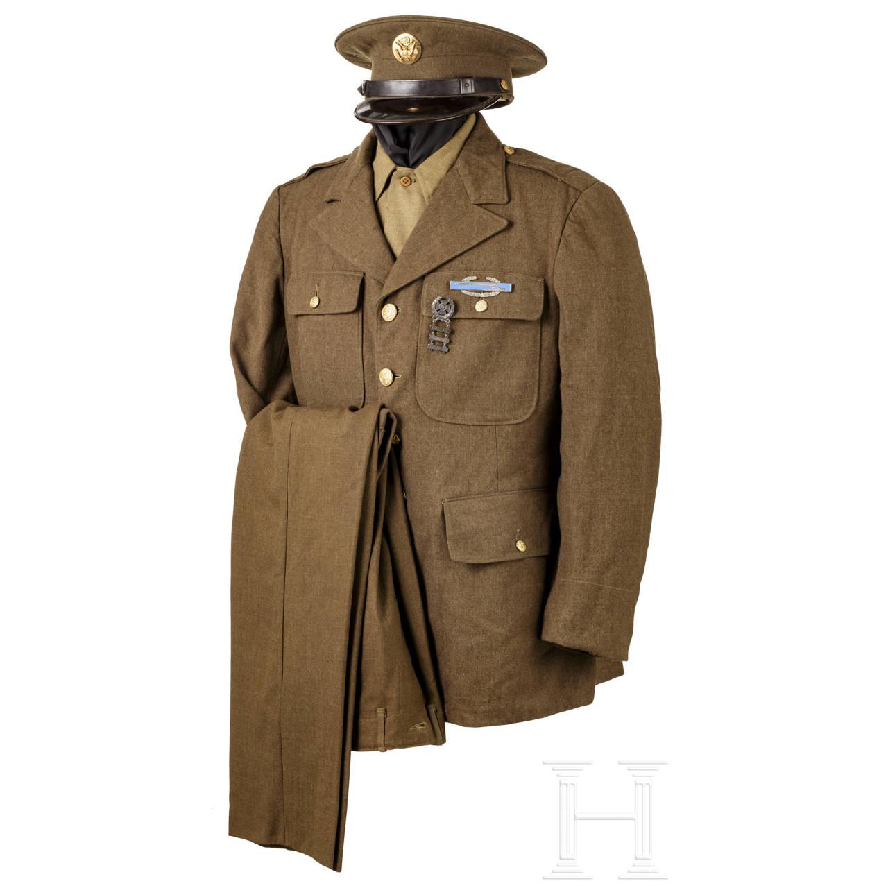 Uniform für Mannschaften der Infanterie (class A), 2. Weltkrieg