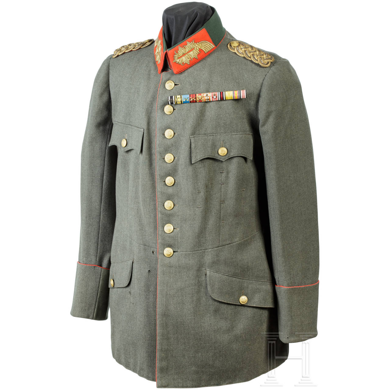 Tunic M1910 for a Generalmajor of the Württemberg army