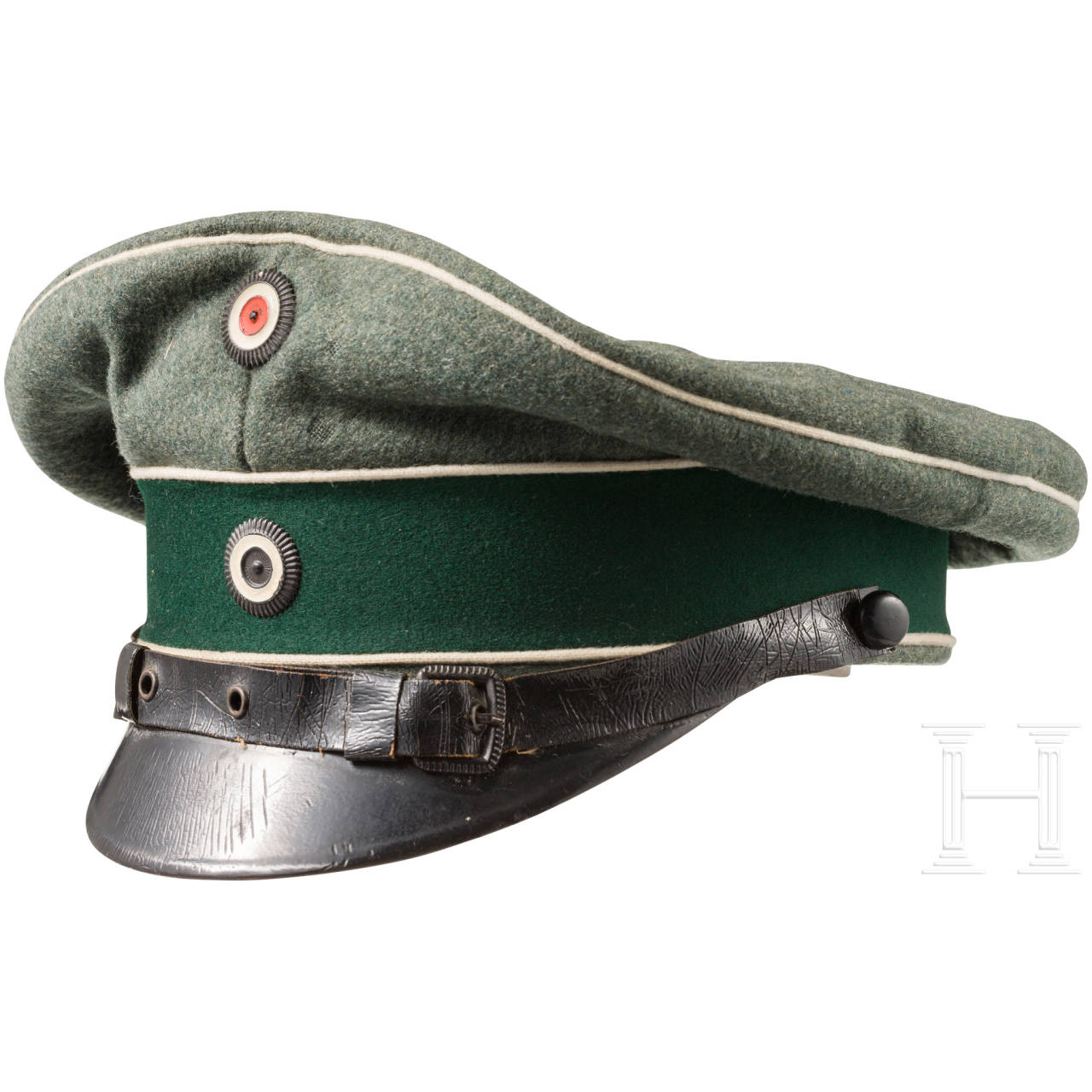 "Field cap M1910 for officers in the Cuirassier Regiment ""Graf Gessler"" (Rhenish) No. 8"