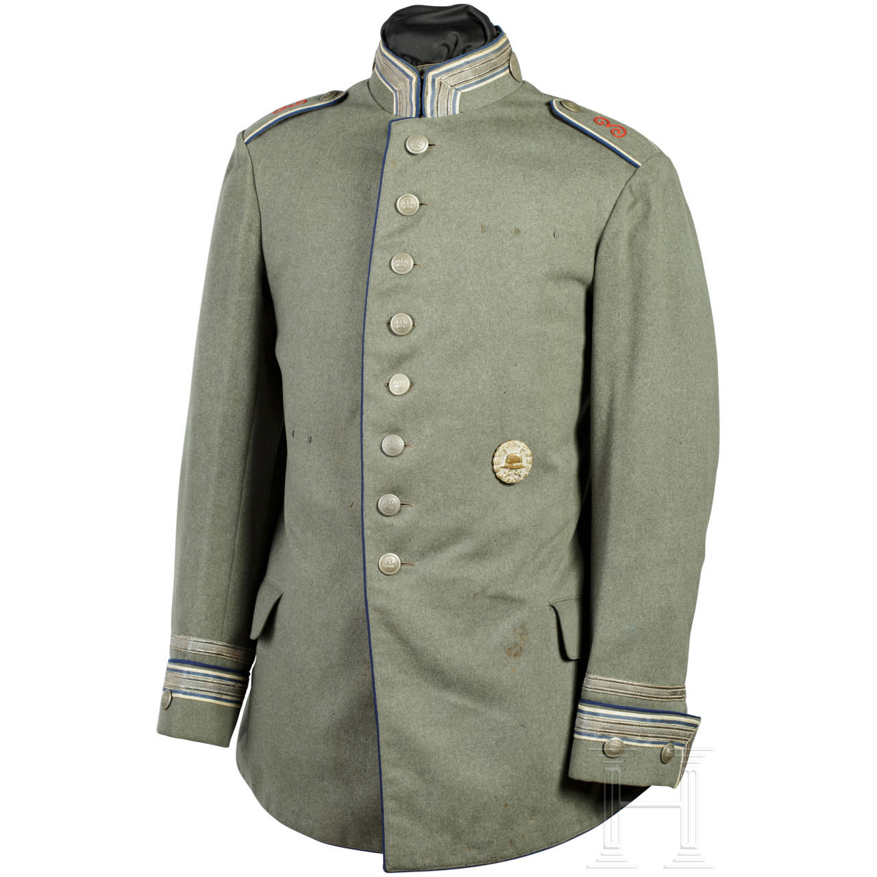 "Tunic M1910 for a Wachtmeister in the Cuirassier Regiment ""Graf Wrangel"" (East Prussian) No. 3"