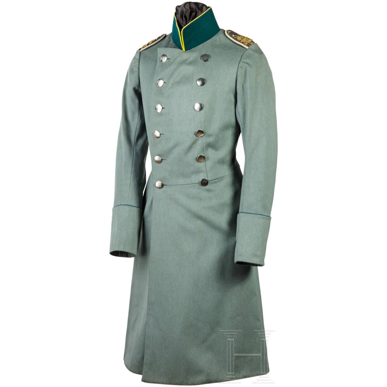 Überrock für einen Leutnant im Regiment Königs-Jäger zu Pferde Nr. 1