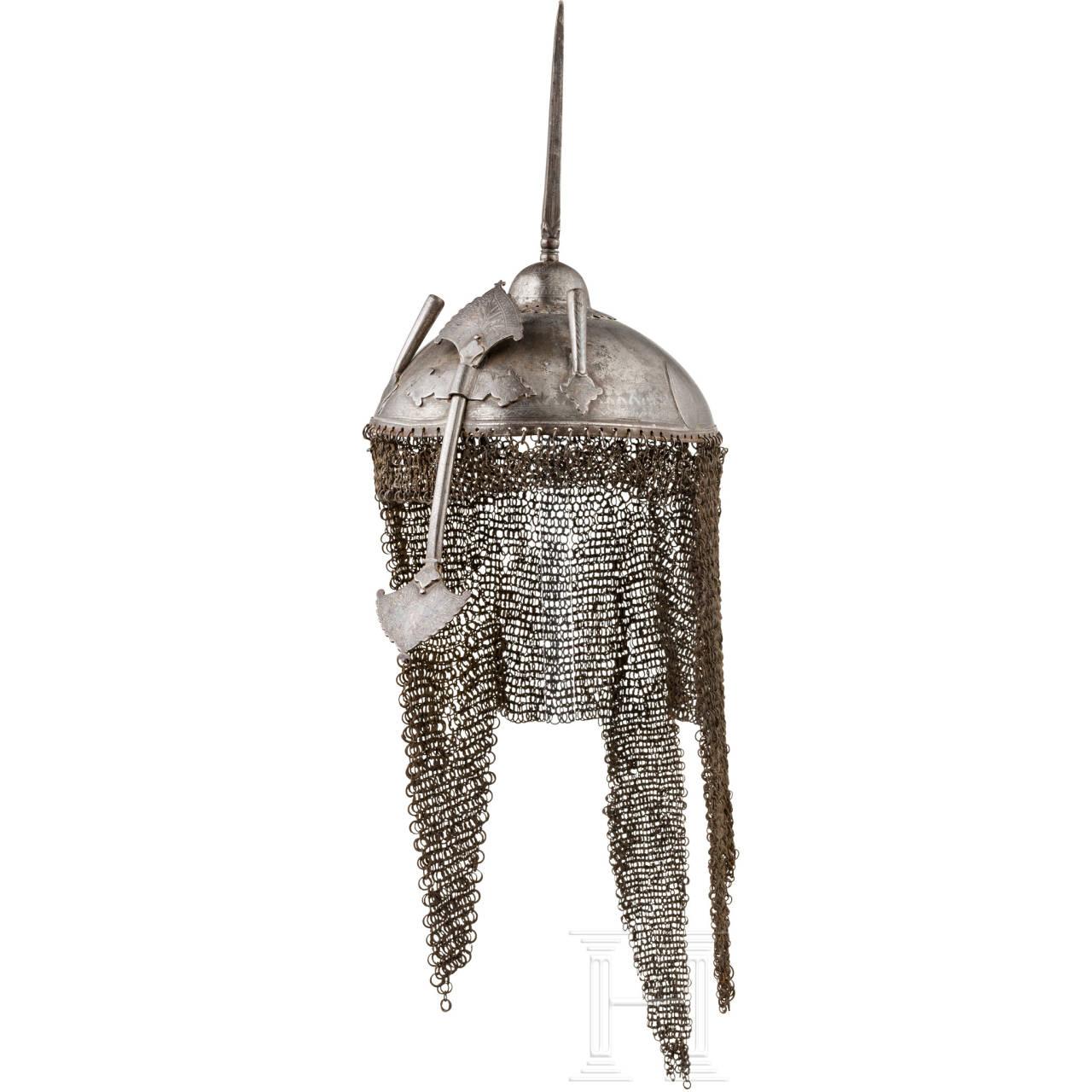 Flacher Kulah Khud, Indo-Persien, 18. - 19. Jhdt.
