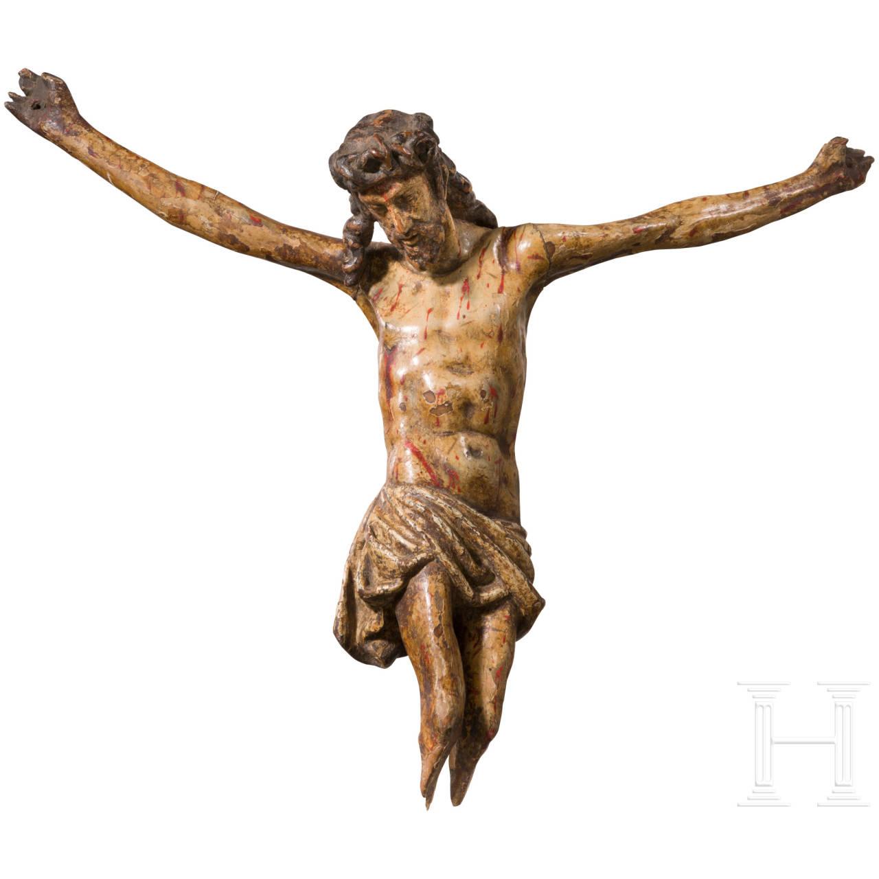 Hölzerner Corpus Christi, Frankreich, 17. Jhdt.