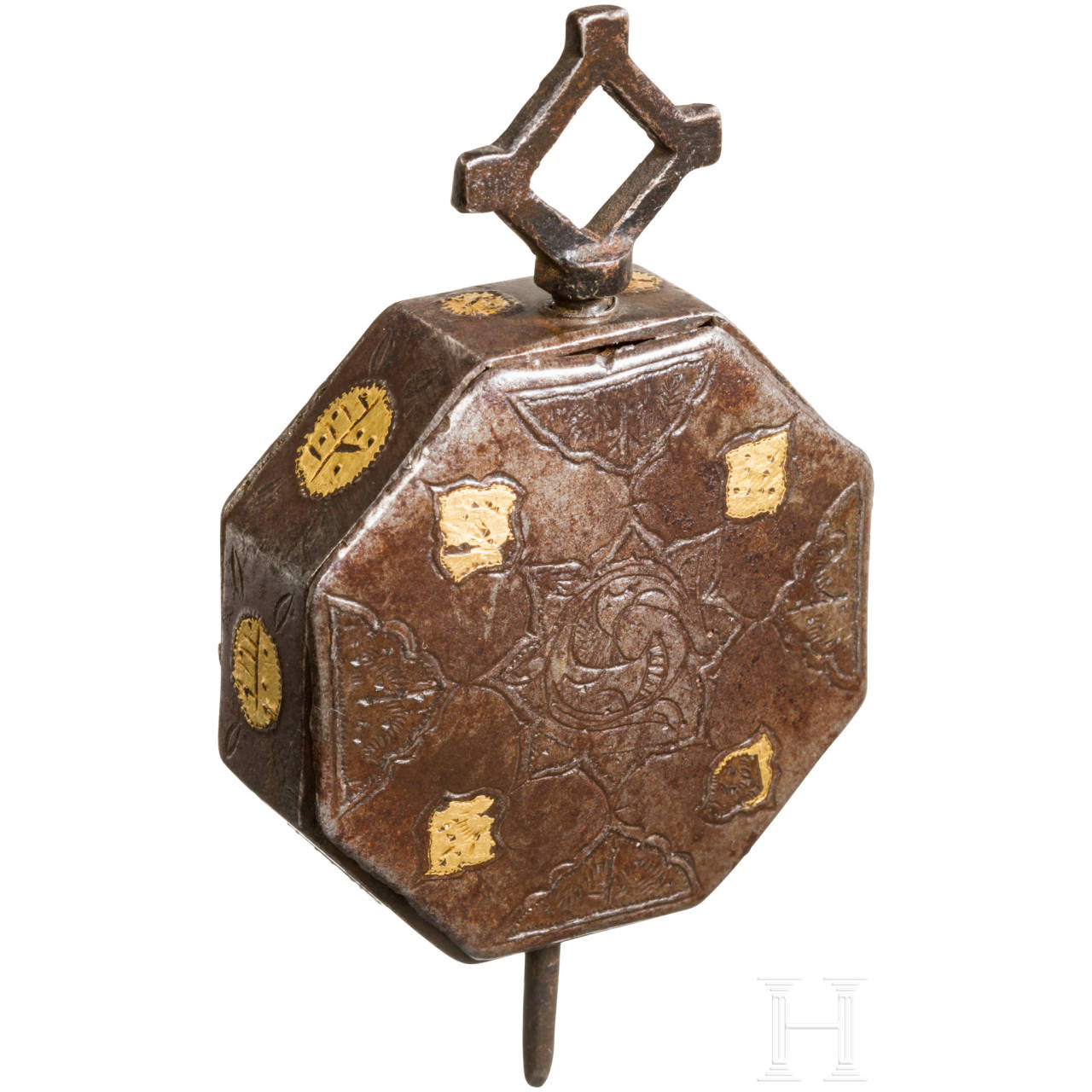 Amulettbehälter, osmanisch, 19. Jhdt.