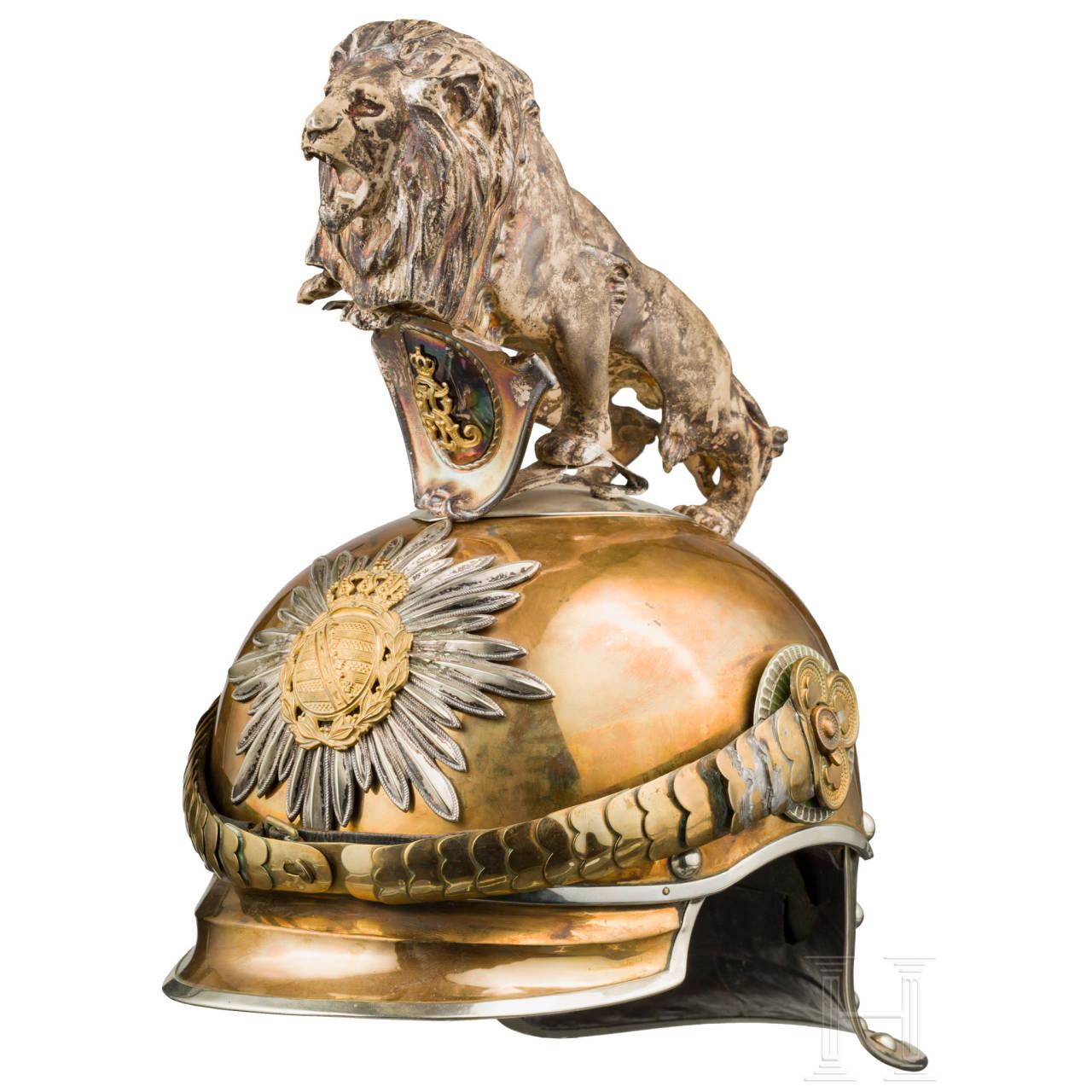 Helm M 1889/1907 für Offiziere des Gardereiter-Regiments