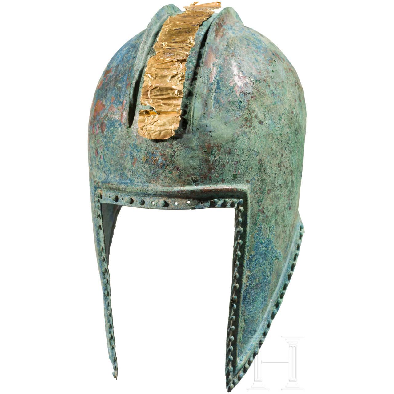 Illyrischer Helm, griechisch, 5. Jhdt. v. Chr.