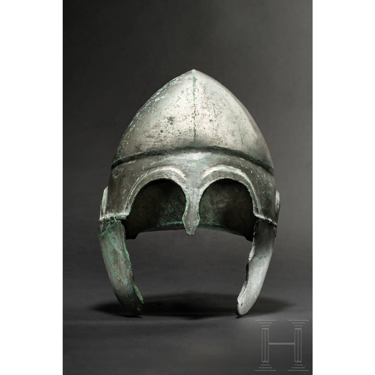 Chalkidischer Helm, Typ V, frühes 4. Jhdt. v. Chr.