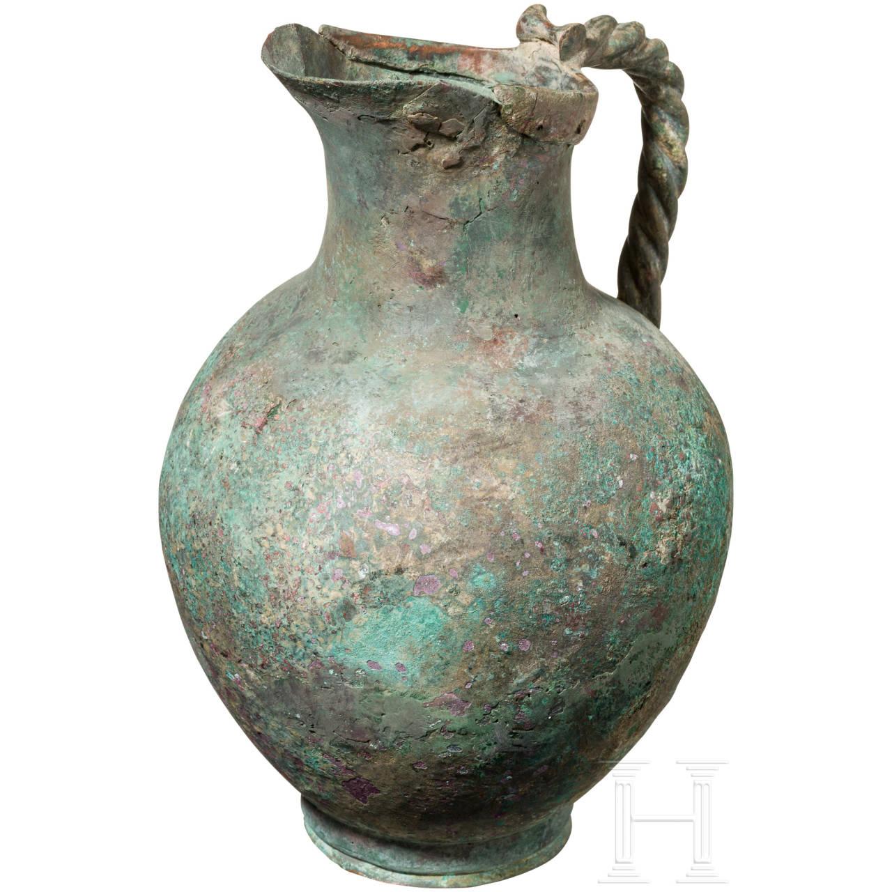 Bronzekanne, Griechenland, 5. Jhdt. v. Chr.