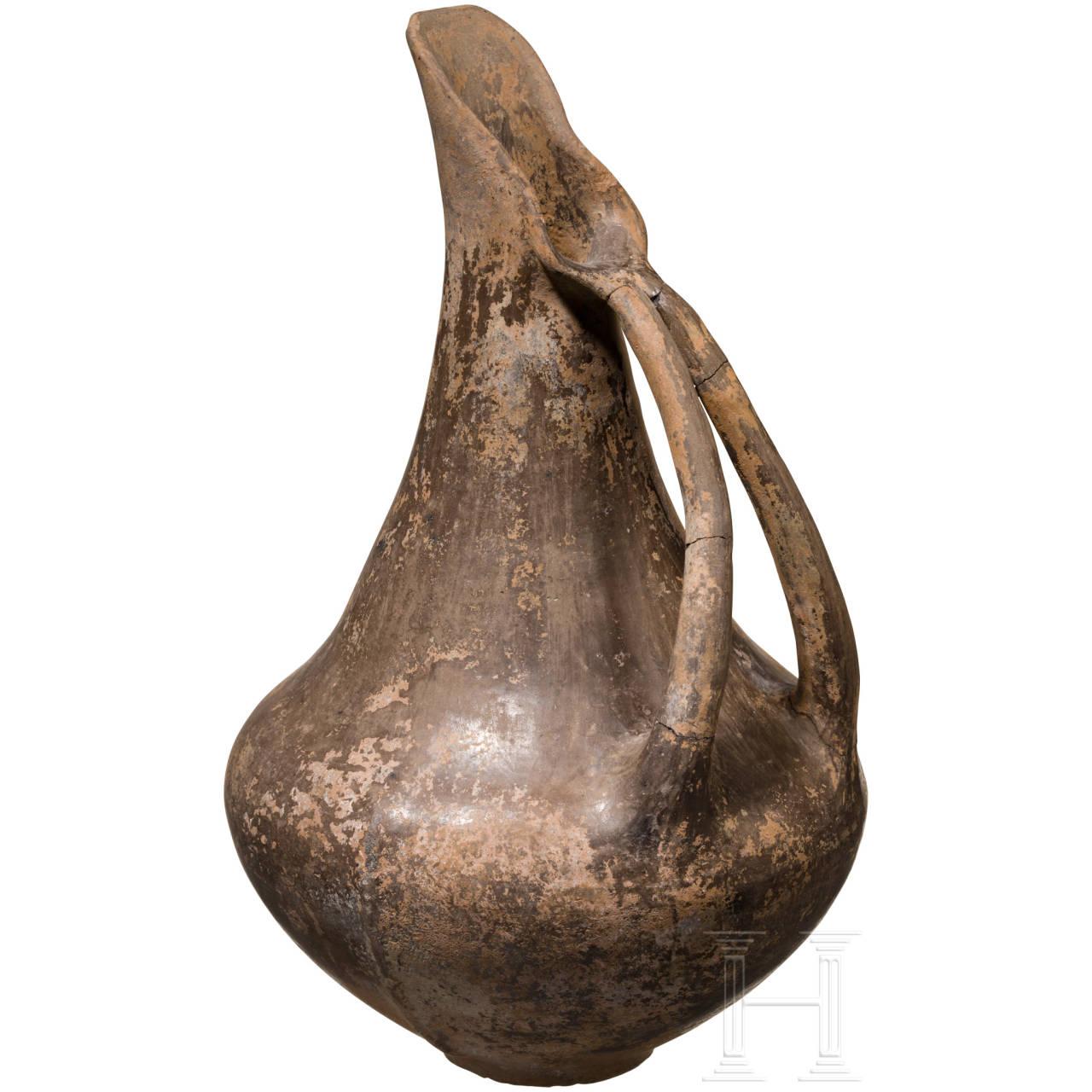 Schnabelkanne, frühetruskisch, spätes 8. - Mitte 7. Jhdt. v. Chr.