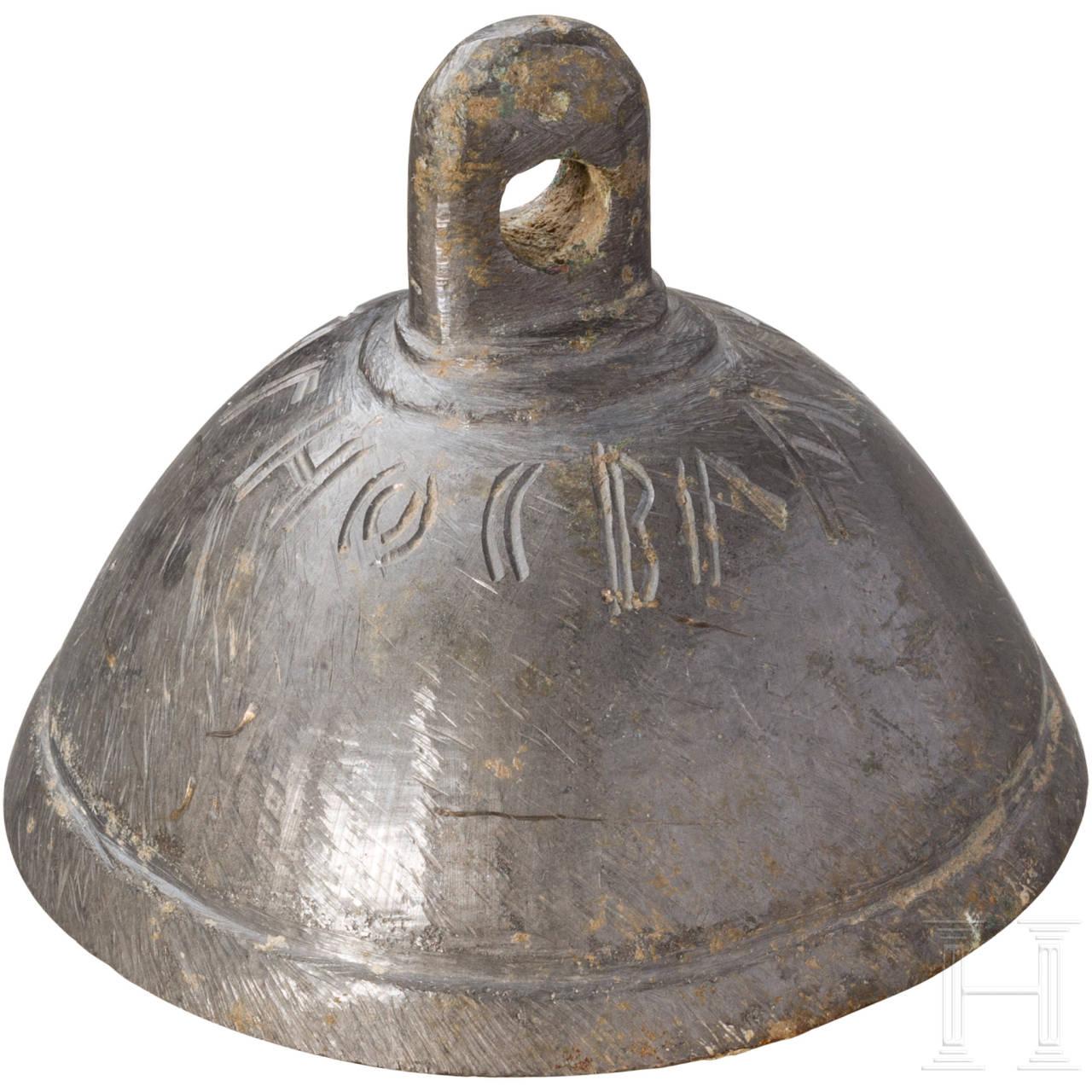 Bronzeglocke, östlicher Mittelmeerraum, byzantinisch, 10. - 12. Jhdt.