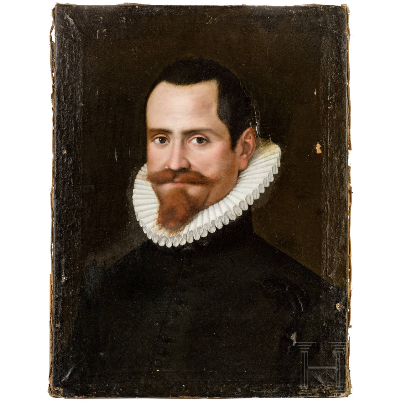 Portrait des Domenico Lucatello, Italien, datiert 1588