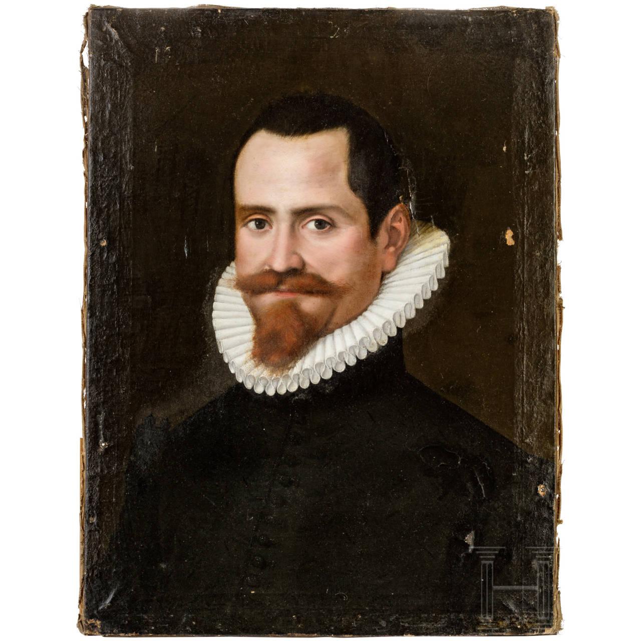 Portrait of Domenico Lucatello, Italy, dated 1588